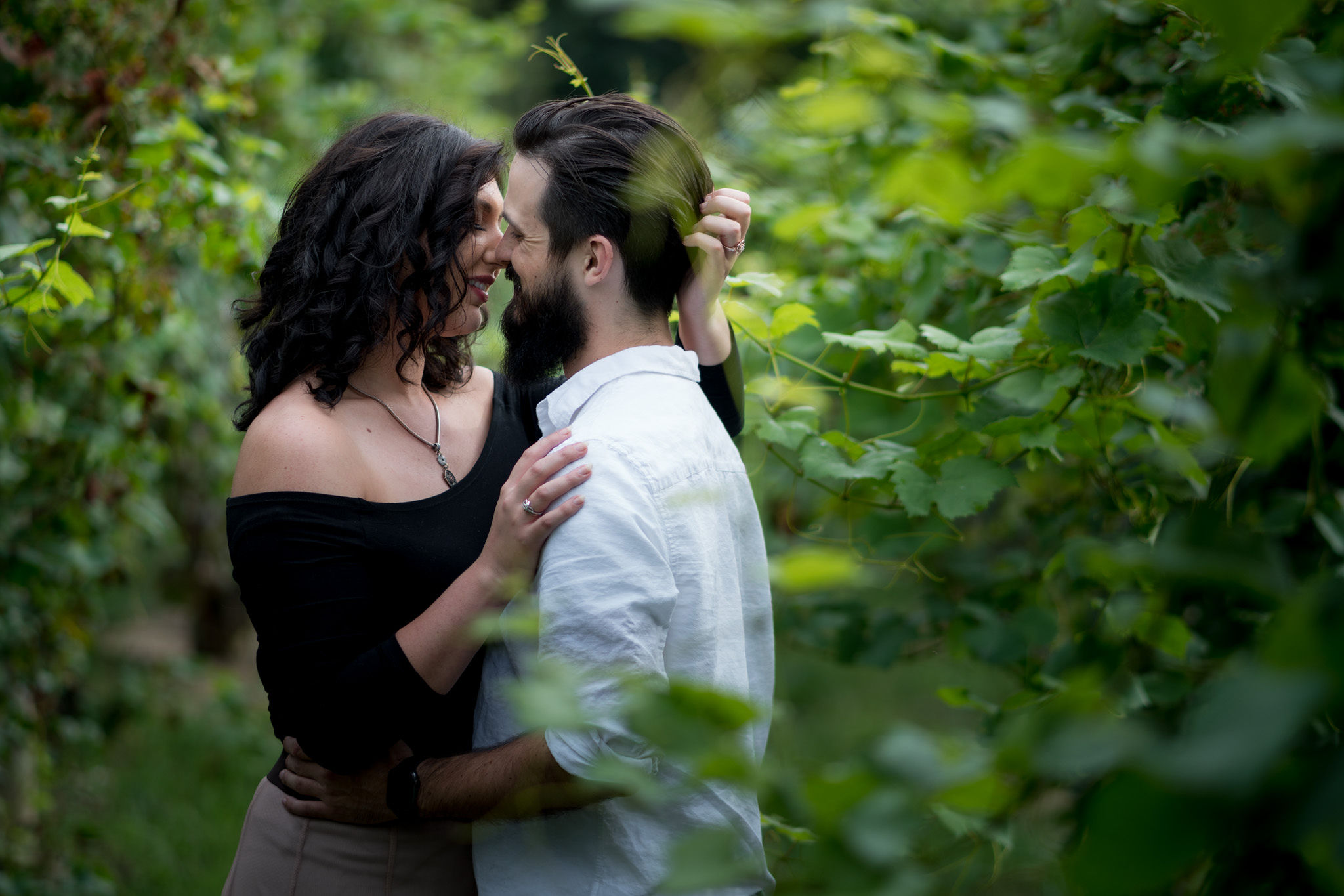 Tyler + Chael's Tabor Hill Winery Engagement Session_7.jpg