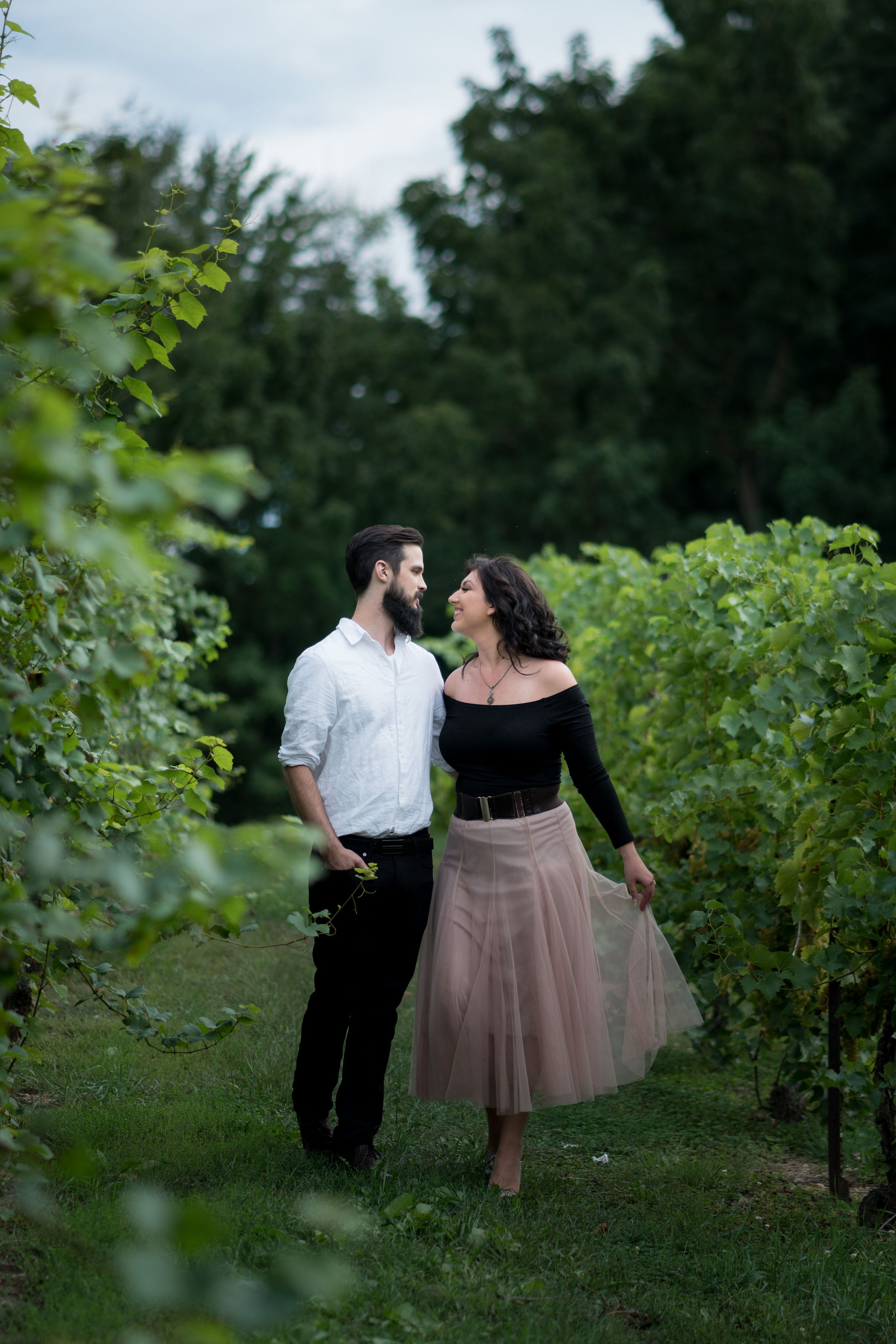 Tyler + Chael's Tabor Hill Winery Engagement Session_8.jpg