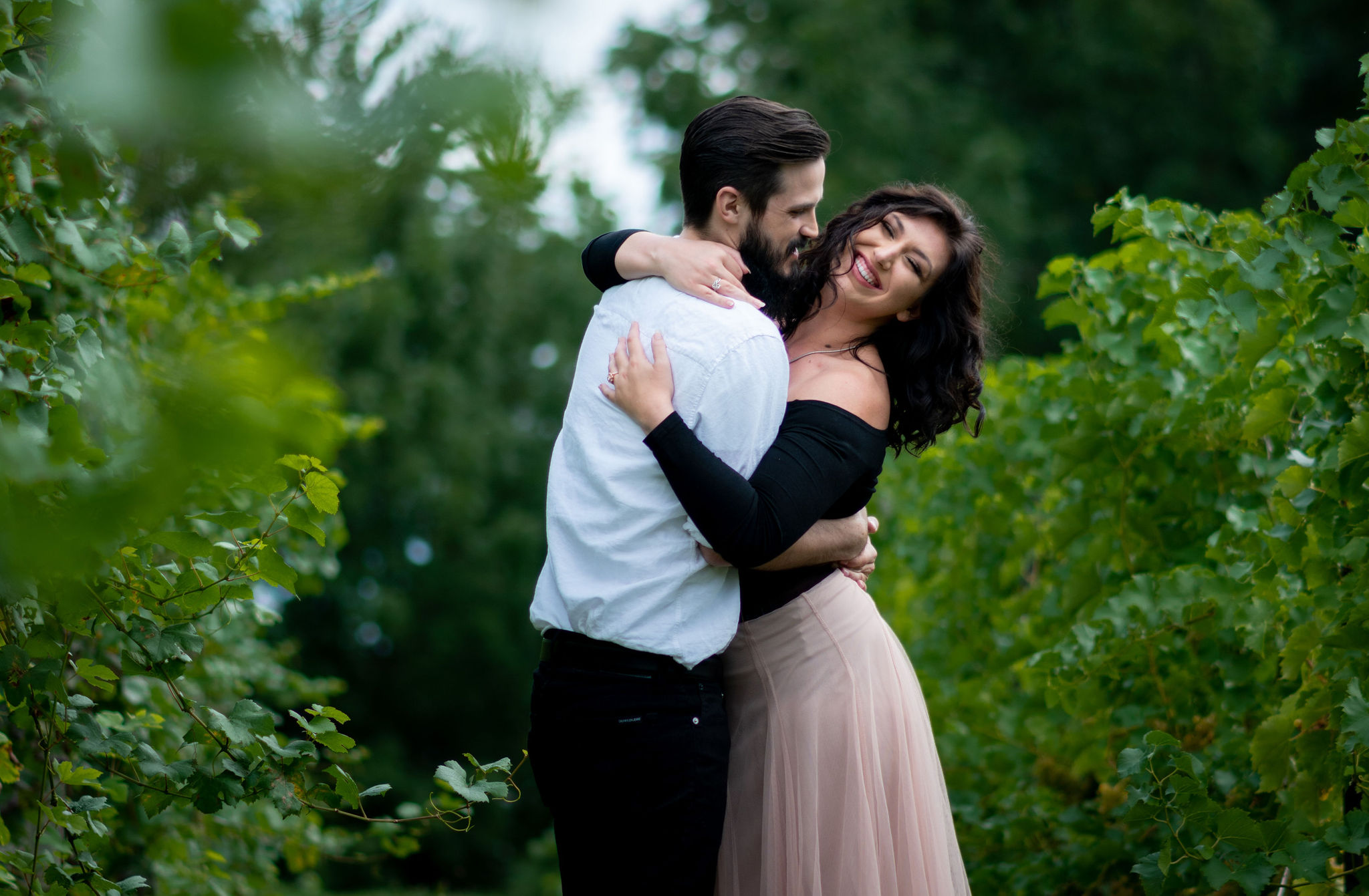 Tyler + Chael's Tabor Hill Winery Engagement Session_10.jpg