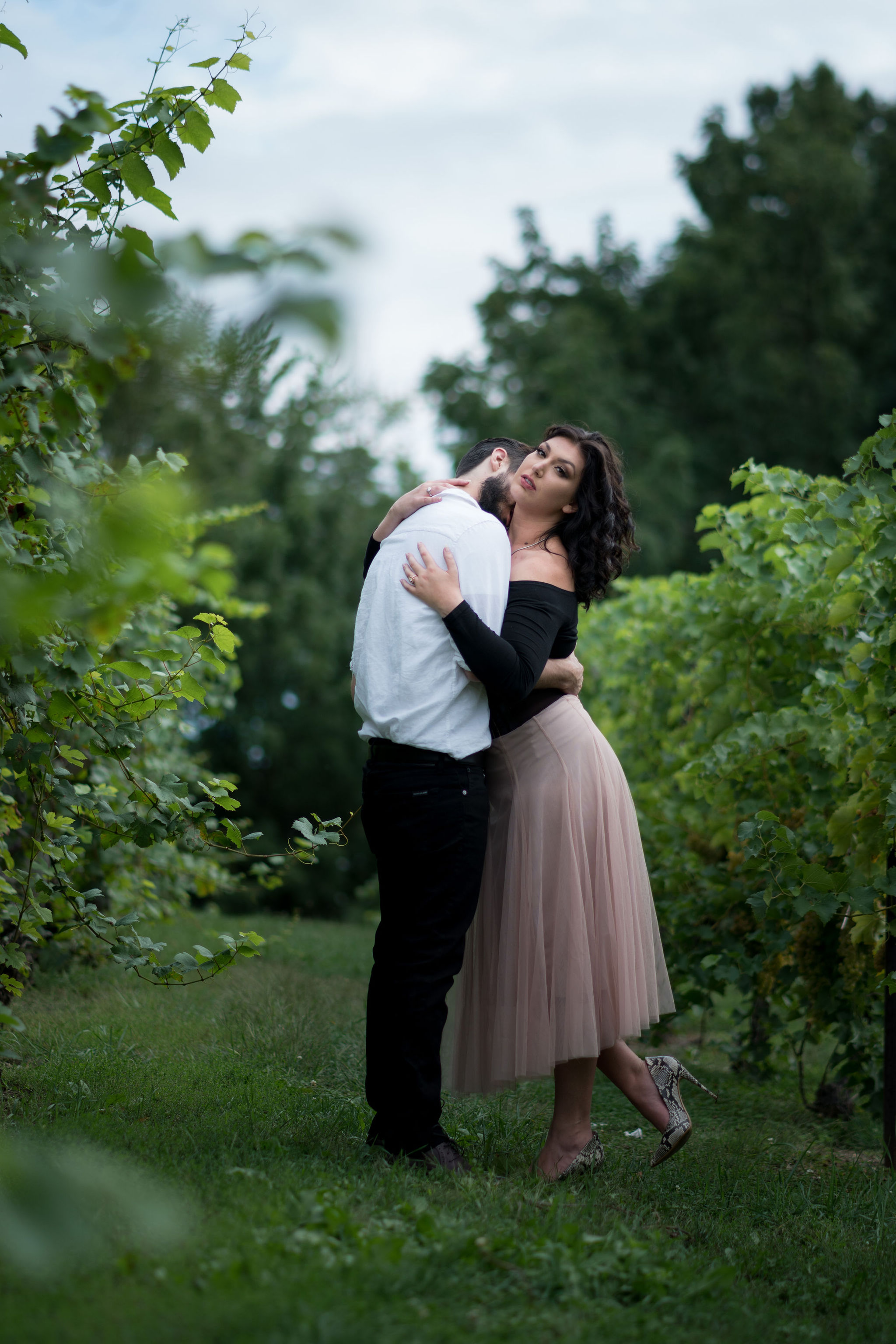 Tyler + Chael's Tabor Hill Winery Engagement Session_12.jpg