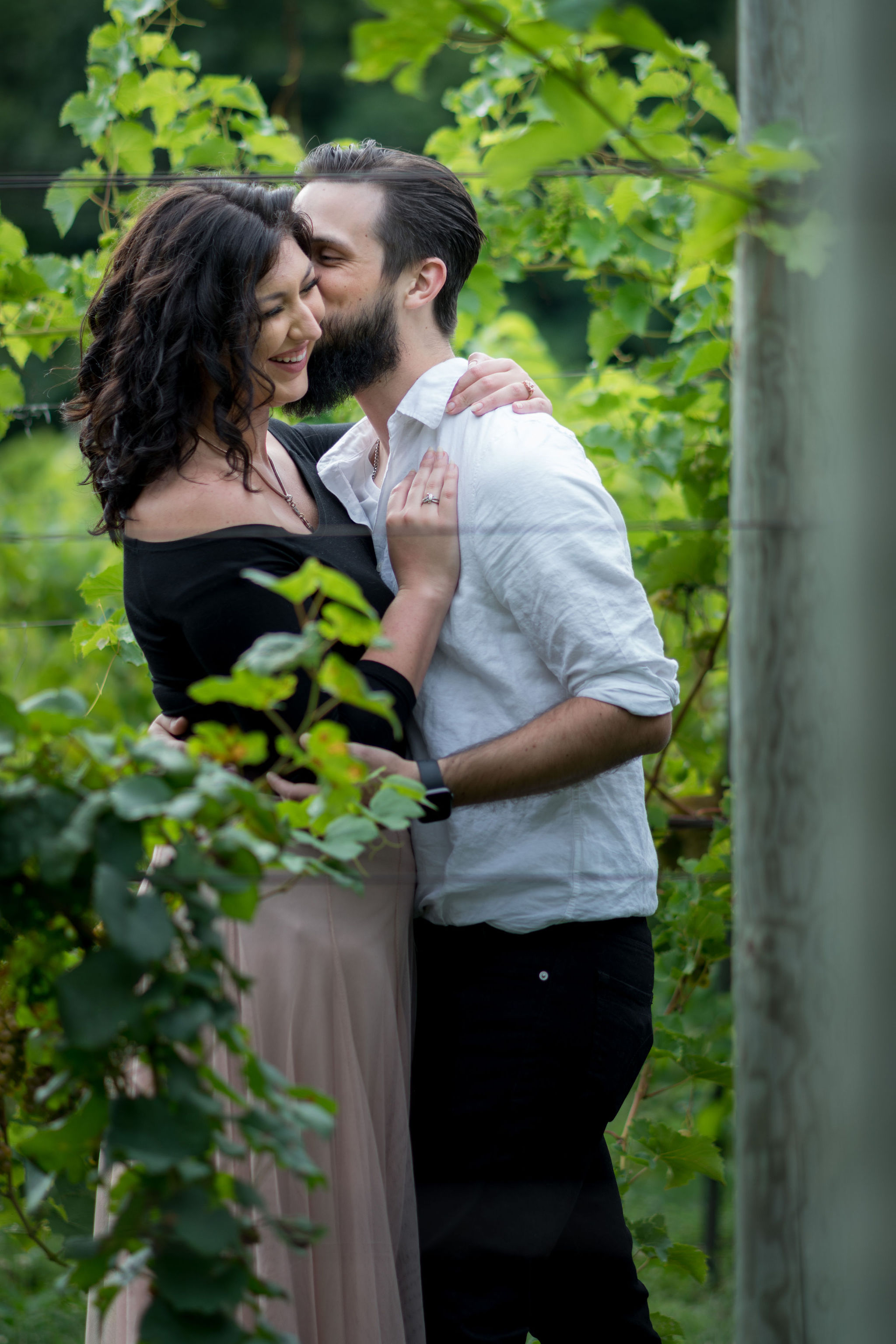 Tyler + Chael's Tabor Hill Winery Engagement Session_13.jpg