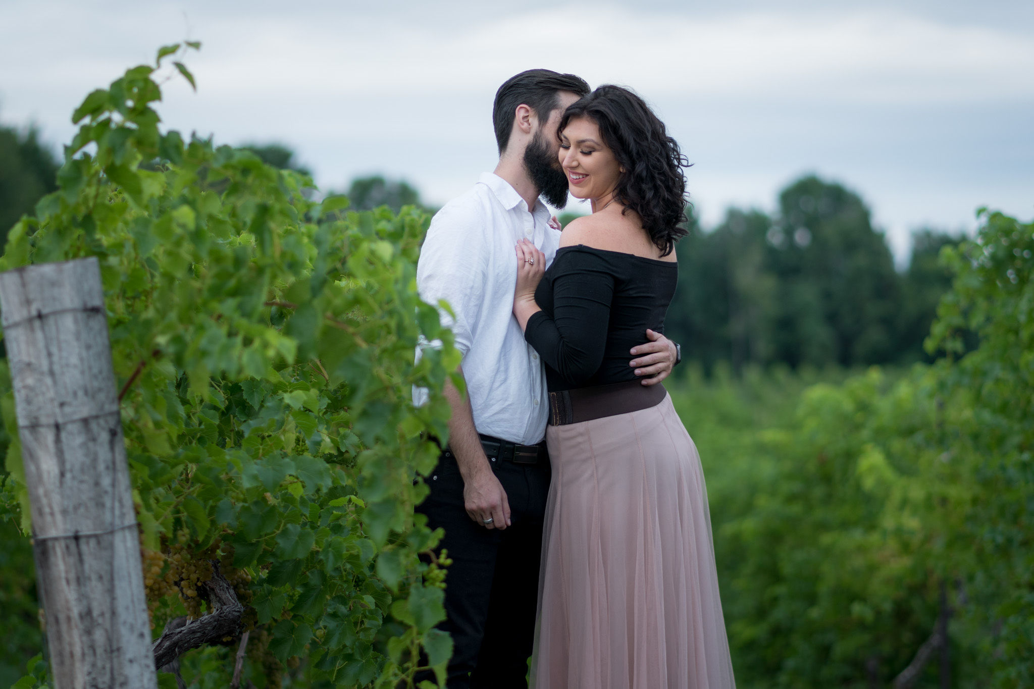 Tyler + Chael's Tabor Hill Winery Engagement Session_16.jpg