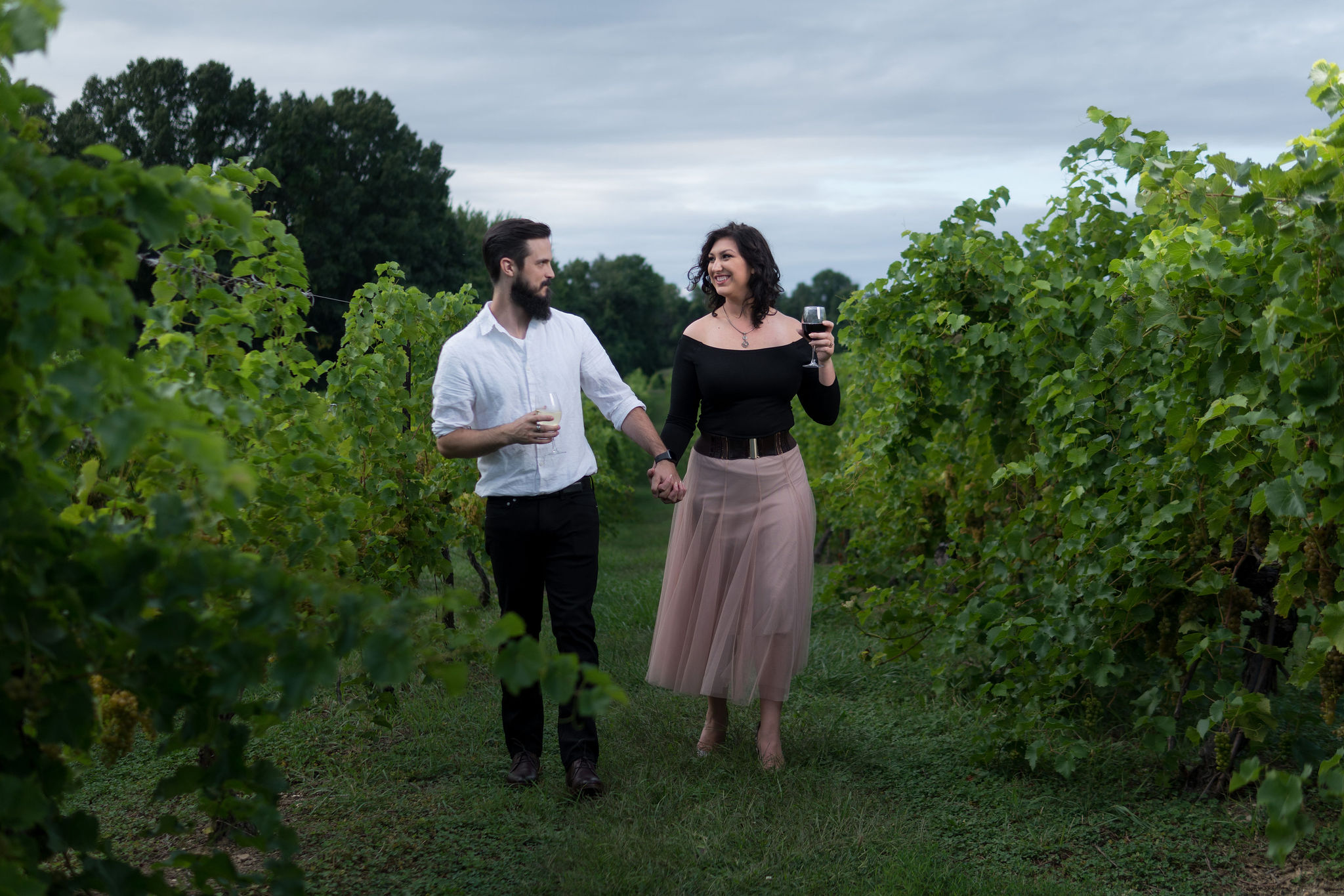 Tyler + Chael's Tabor Hill Winery Engagement Session_18.jpg