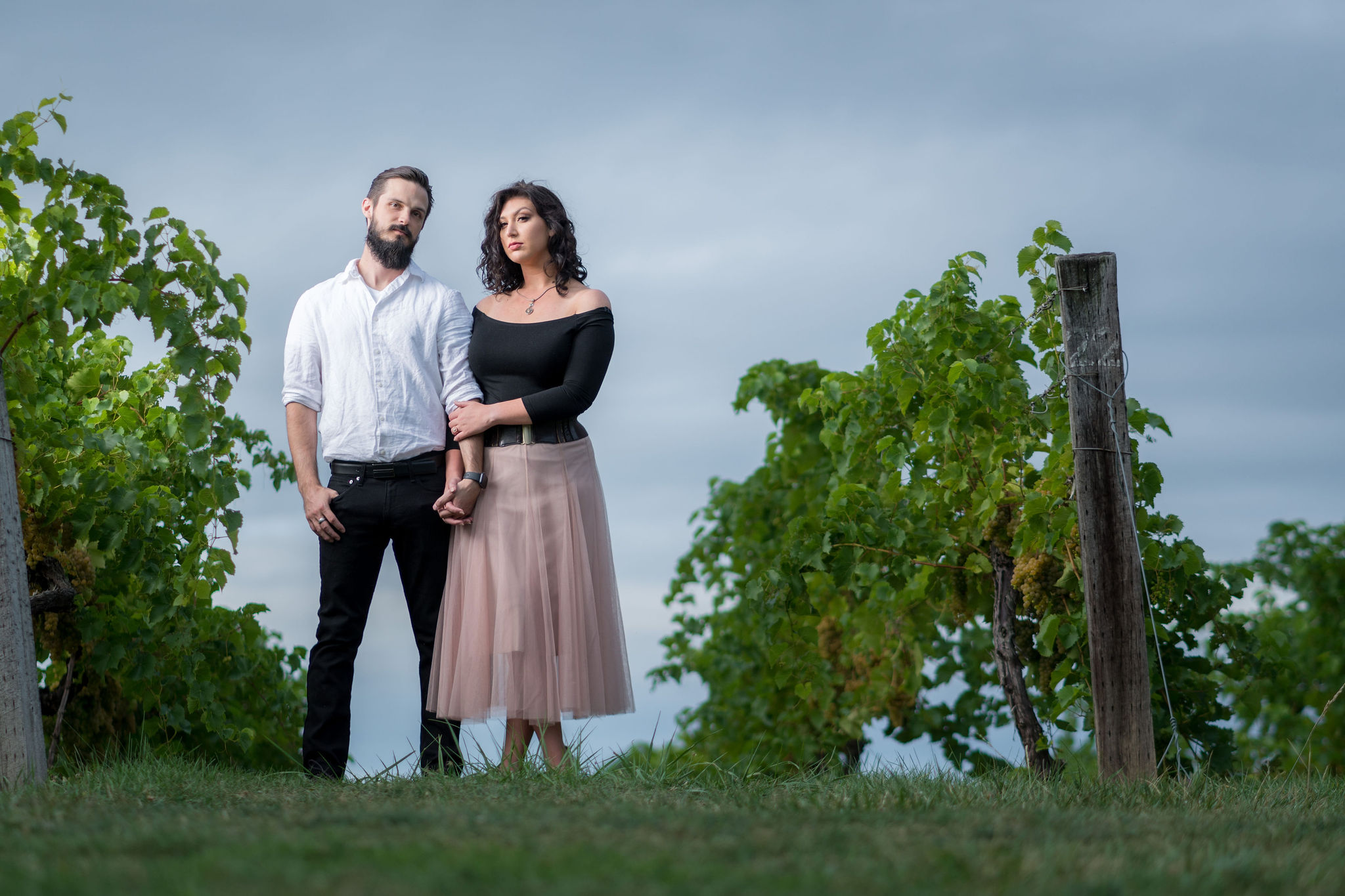 Tyler + Chael's Tabor Hill Winery Engagement Session_19.jpg