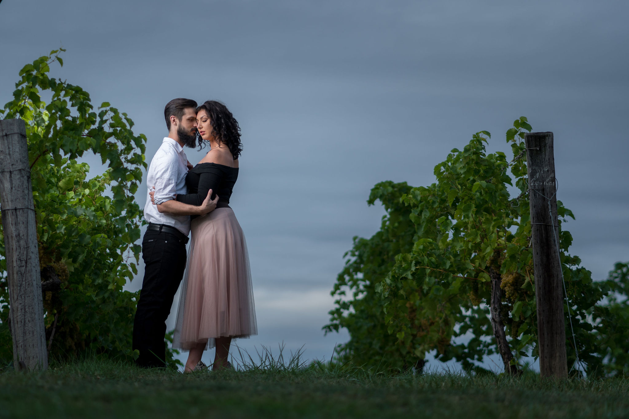 Tyler + Chael's Tabor Hill Winery Engagement Session_21.jpg