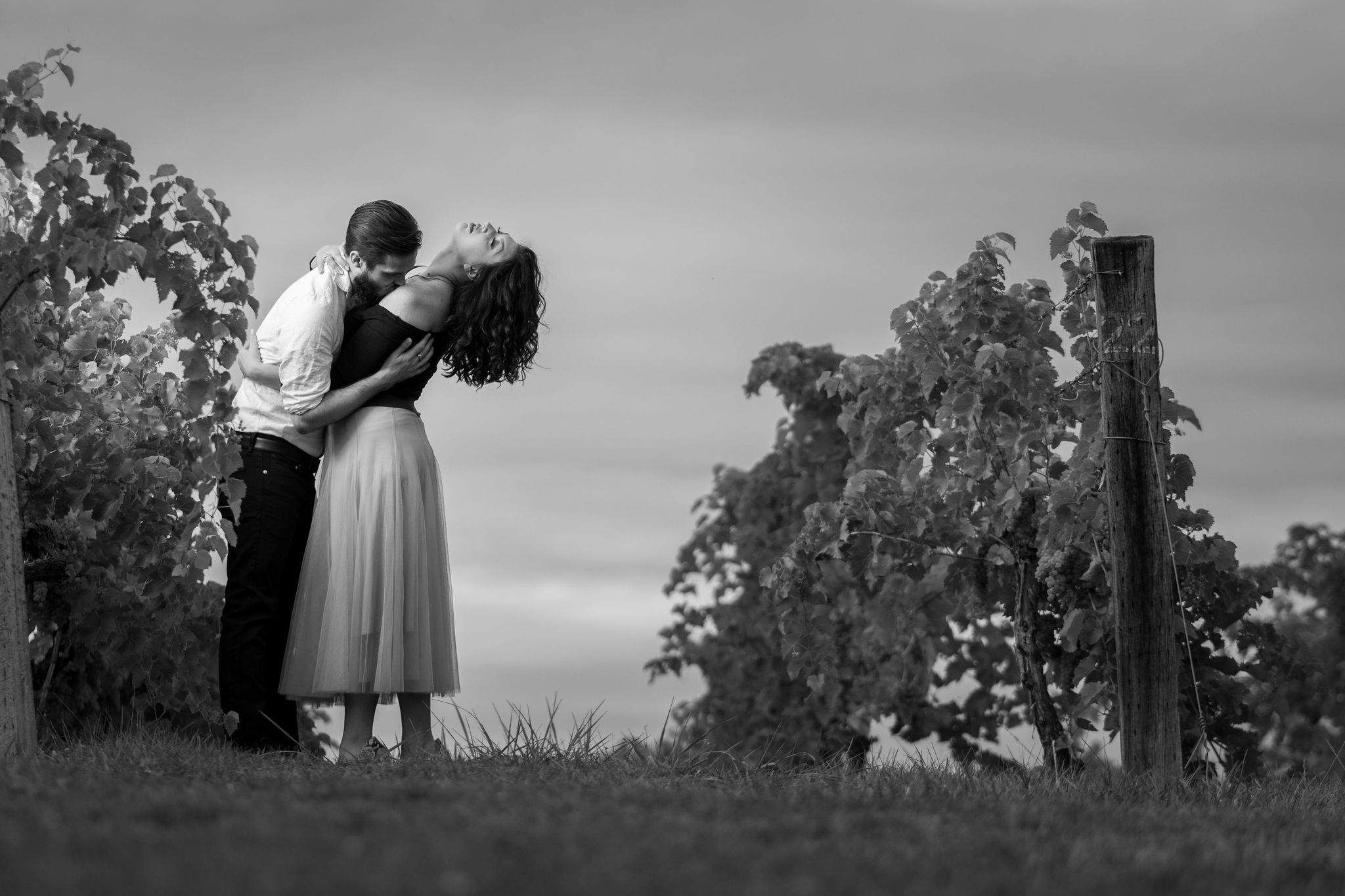 Tyler + Chael's Tabor Hill Winery Engagement Session_22.jpg