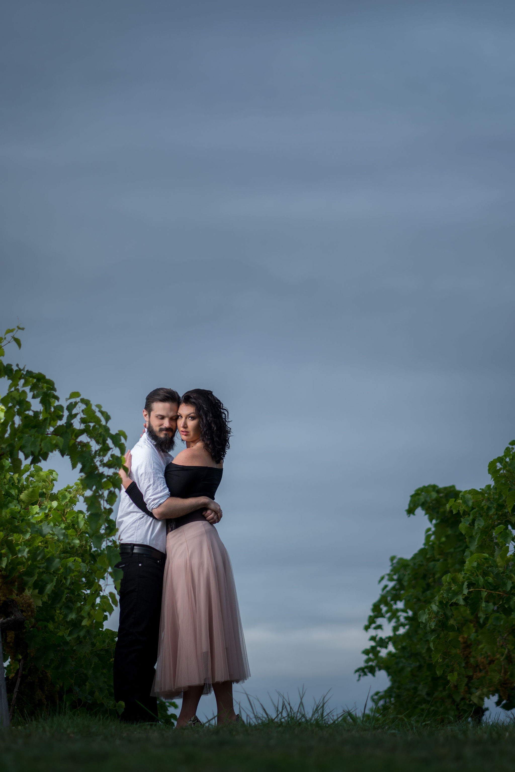 Tyler + Chael's Tabor Hill Winery Engagement Session_23.jpg
