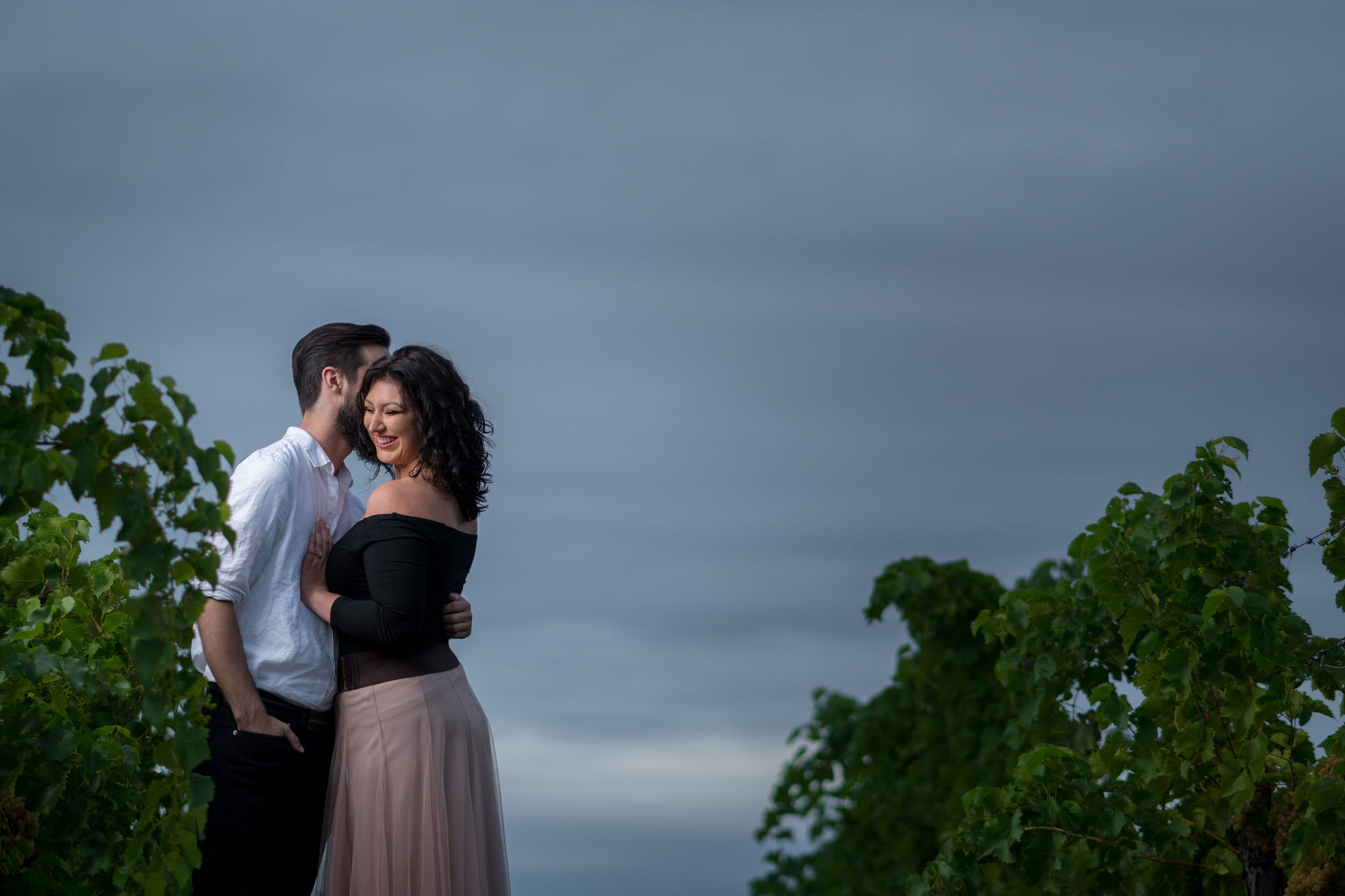 Tyler + Chael's Tabor Hill Winery Engagement Session_24.jpg