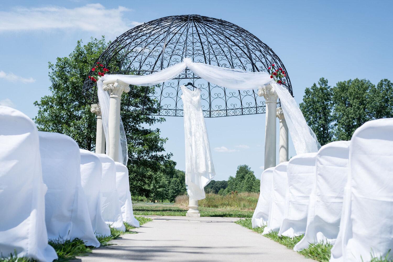 Aaron & Jennifer's Duneland Falls Wedding 2