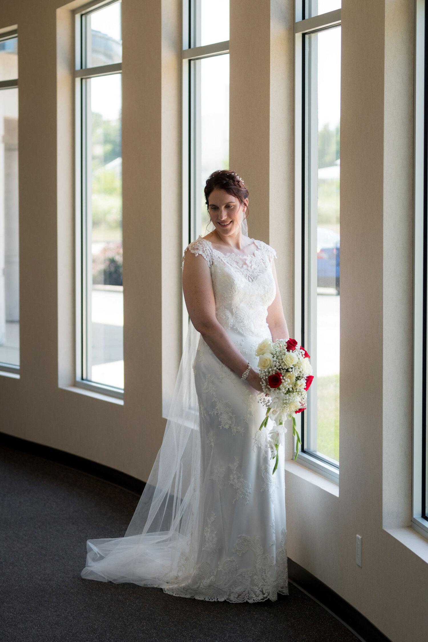 Aaron & Jennifer's Duneland Falls Wedding 16