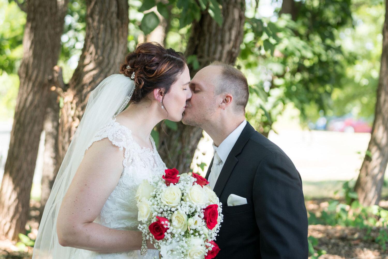 Aaron & Jennifer's Duneland Falls Wedding 19