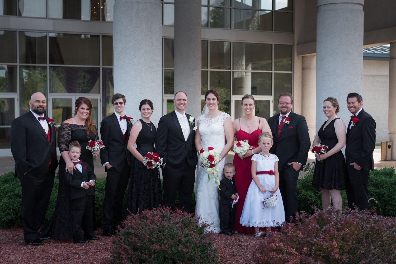 Aaron & Jennifer's Duneland Falls Wedding 26