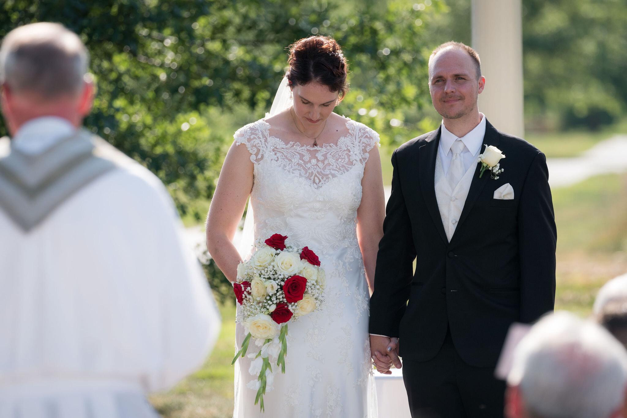 Aaron & Jennifer's Duneland Falls Wedding 41