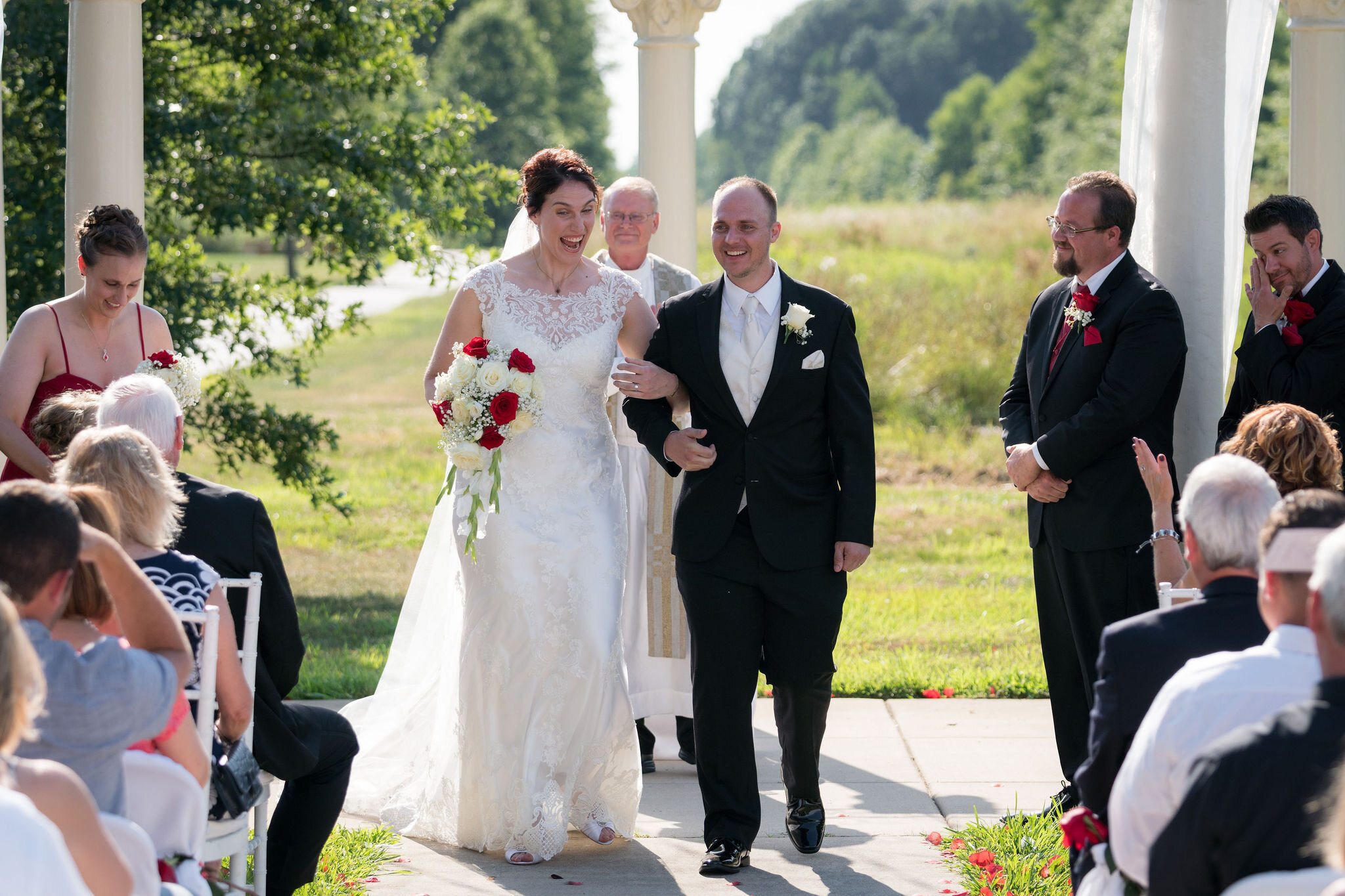 Aaron & Jennifer's Duneland Falls Wedding 44