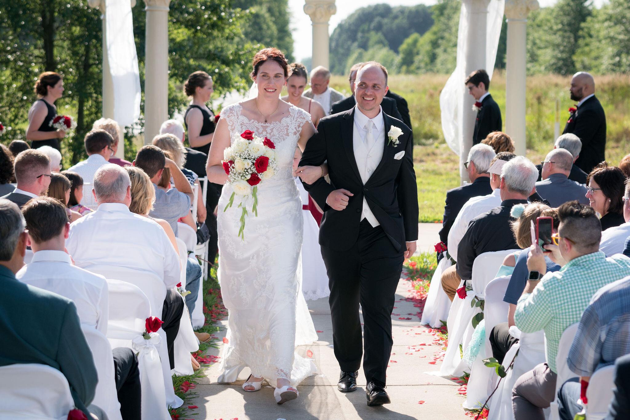 Aaron & Jennifer's Duneland Falls Wedding 45