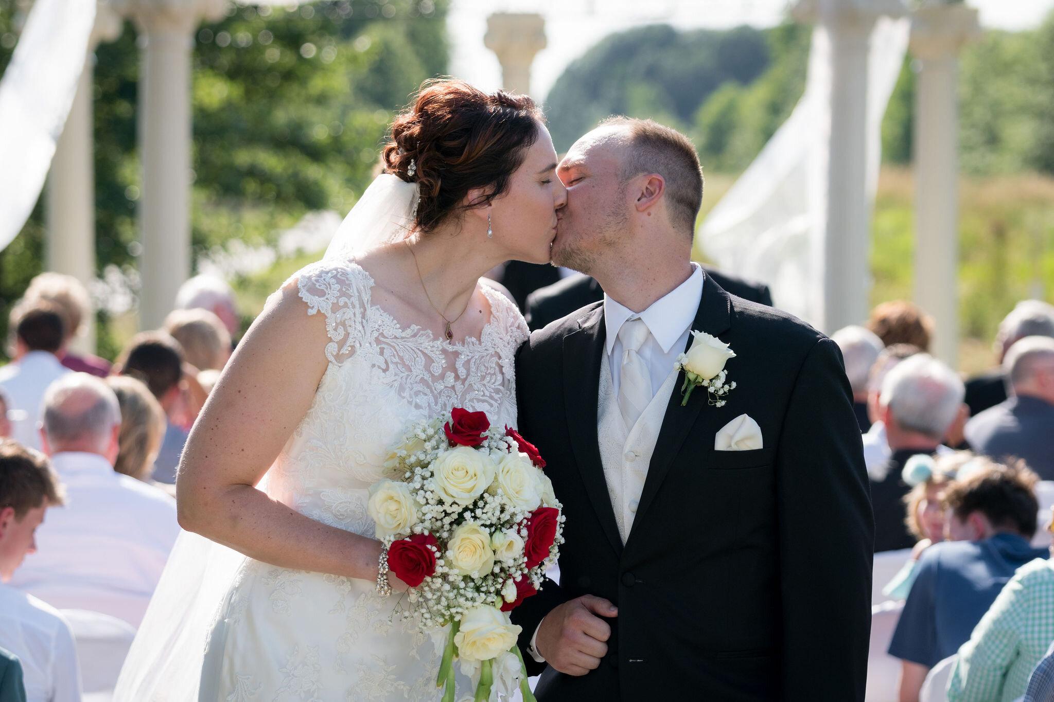 Aaron & Jennifer's Duneland Falls Wedding 46