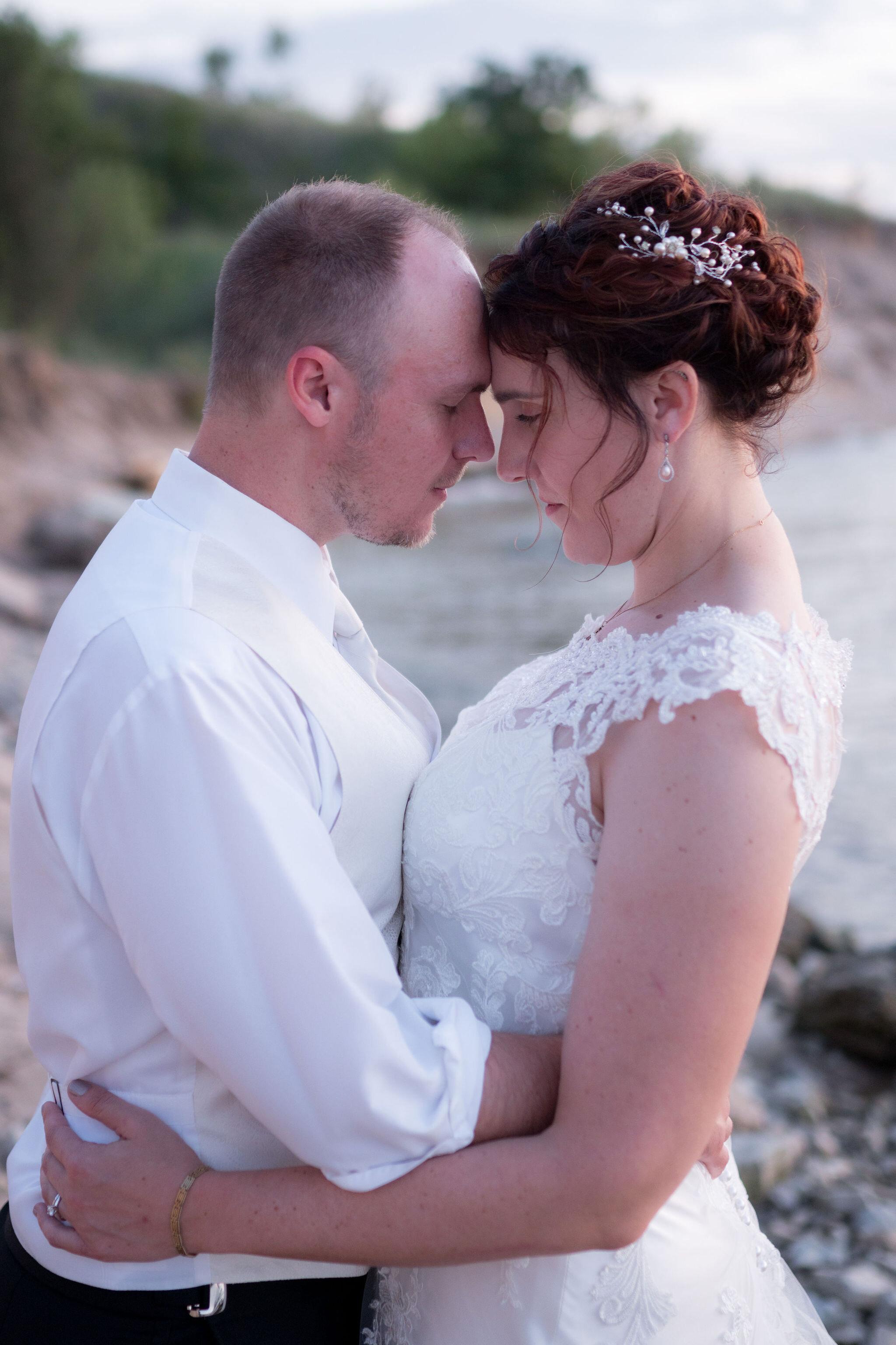 Aaron & Jennifer's Duneland Falls Wedding 52