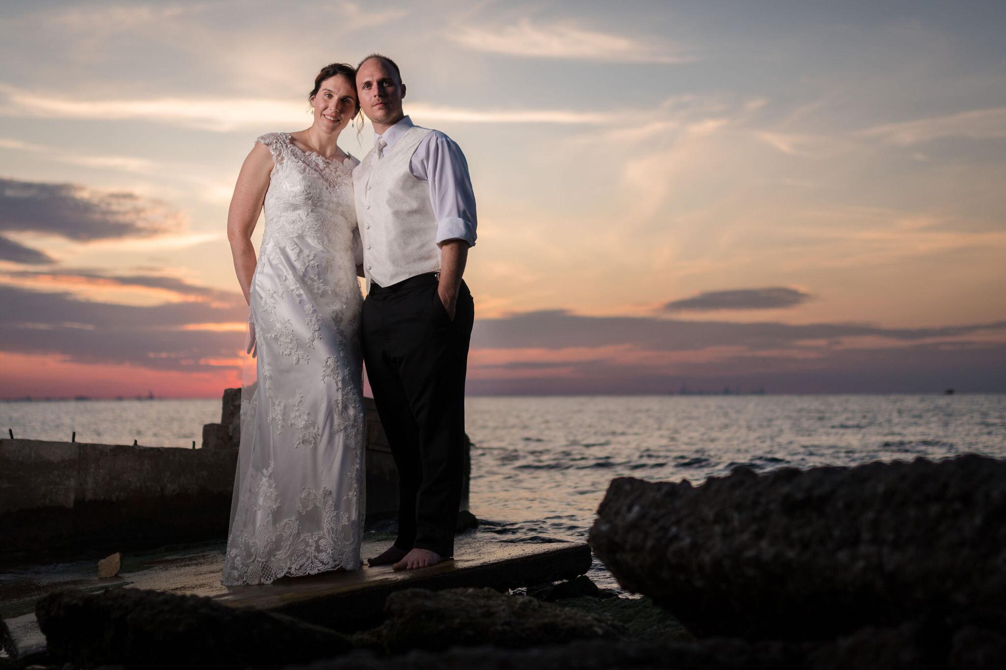 Aaron & Jennifer's Duneland Falls Wedding 54