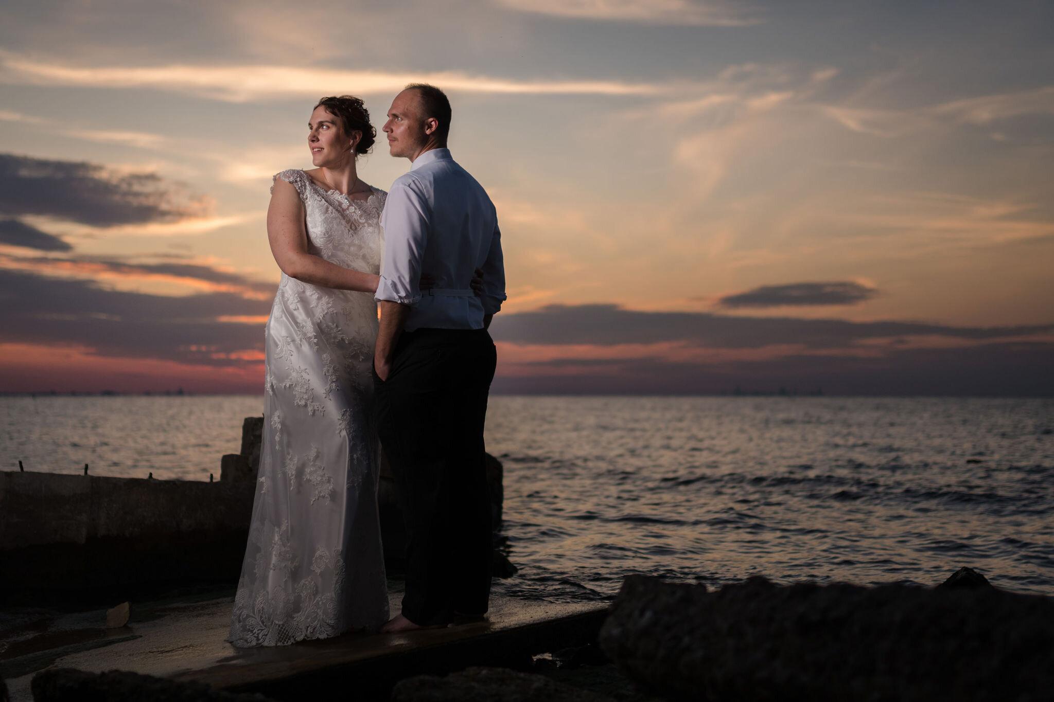 Aaron & Jennifer's Duneland Falls Wedding 55