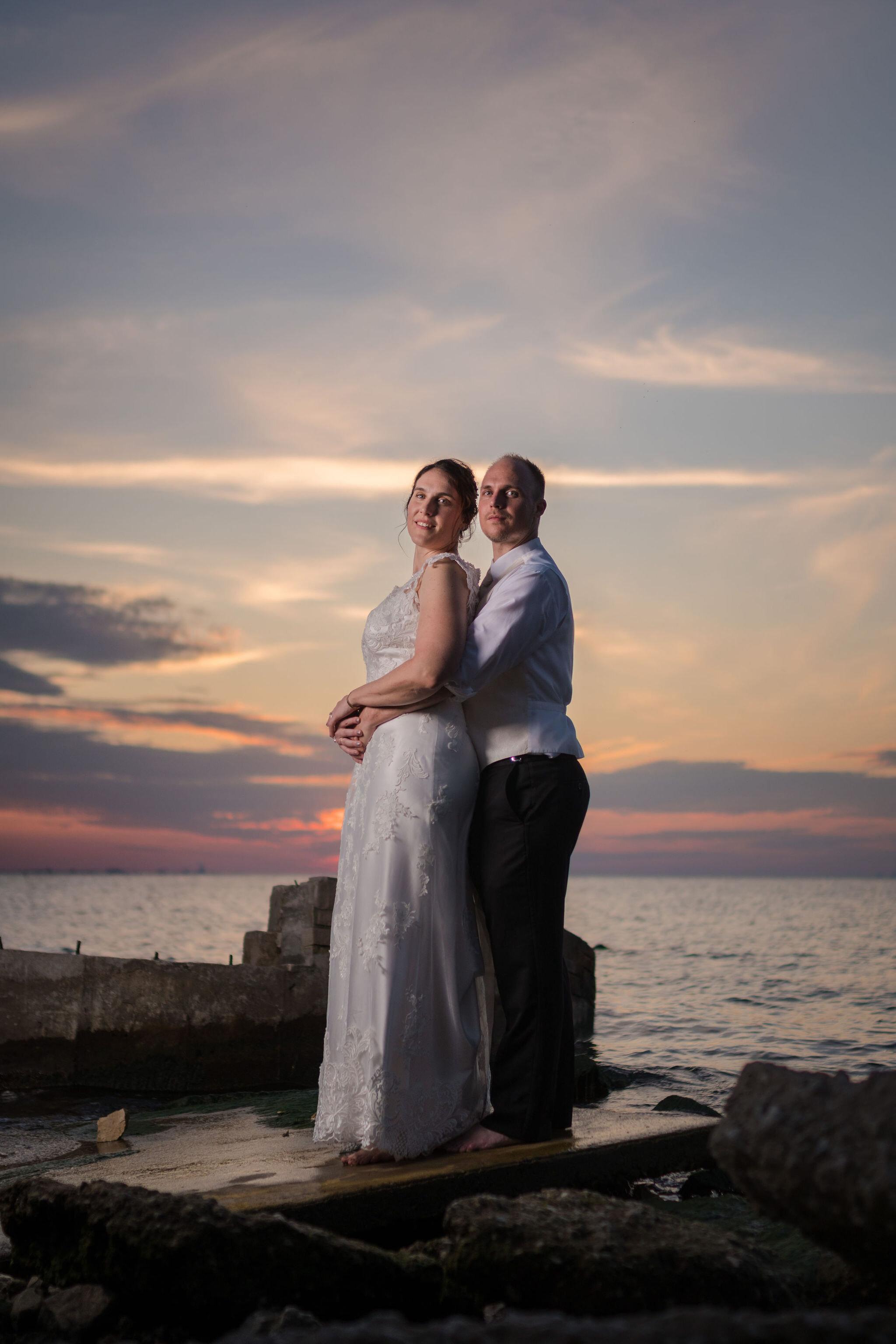 Aaron & Jennifer's Duneland Falls Wedding 56