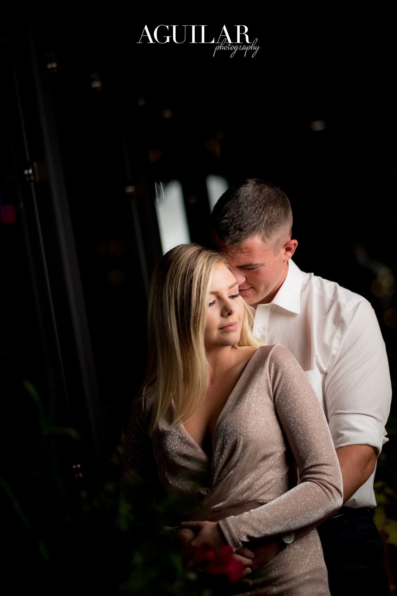 Colton & Taylor's Downtown Chicago Riverwalk Engagement 16