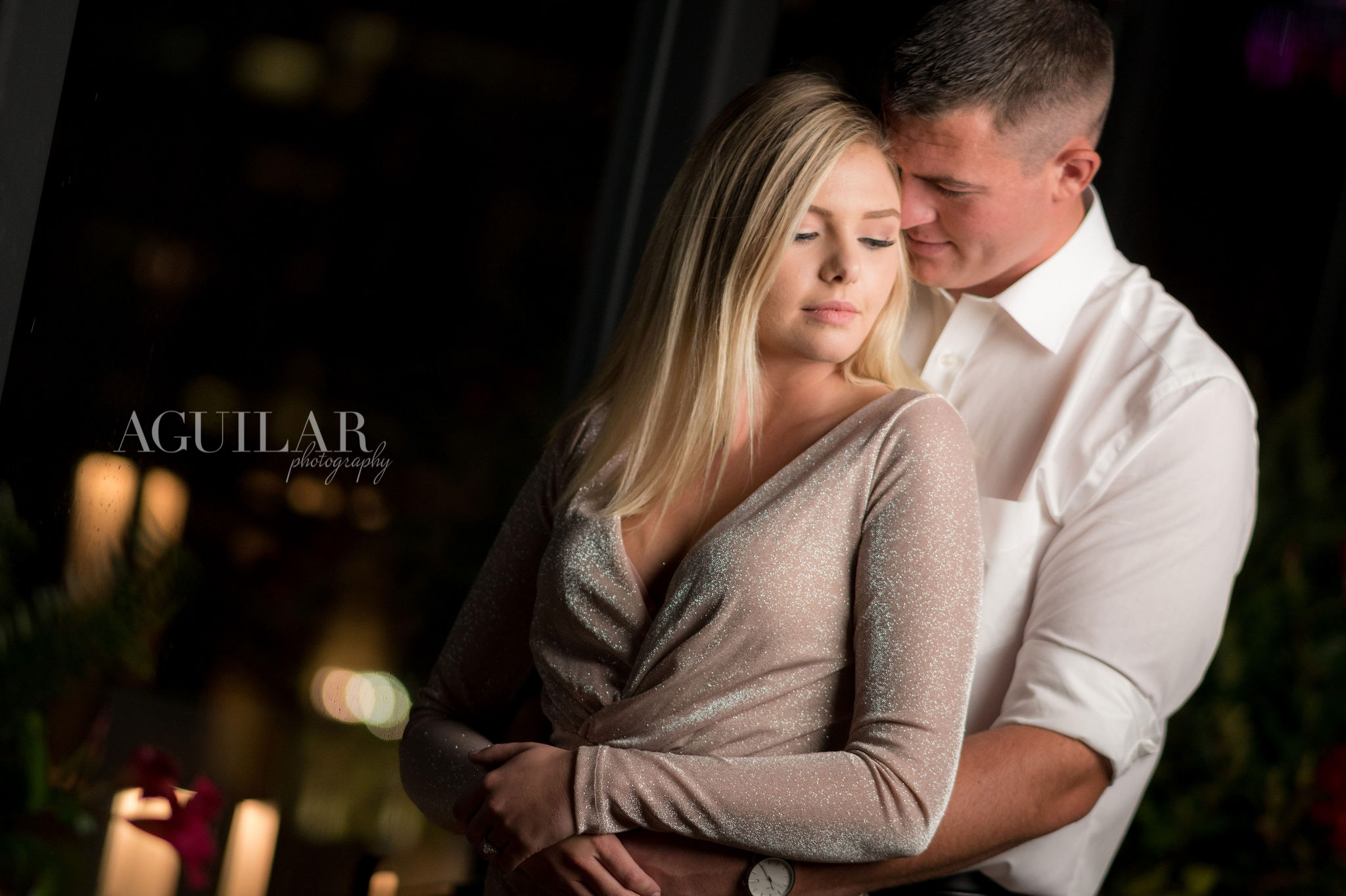 Colton & Taylor's Downtown Chicago Riverwalk Engagement 17