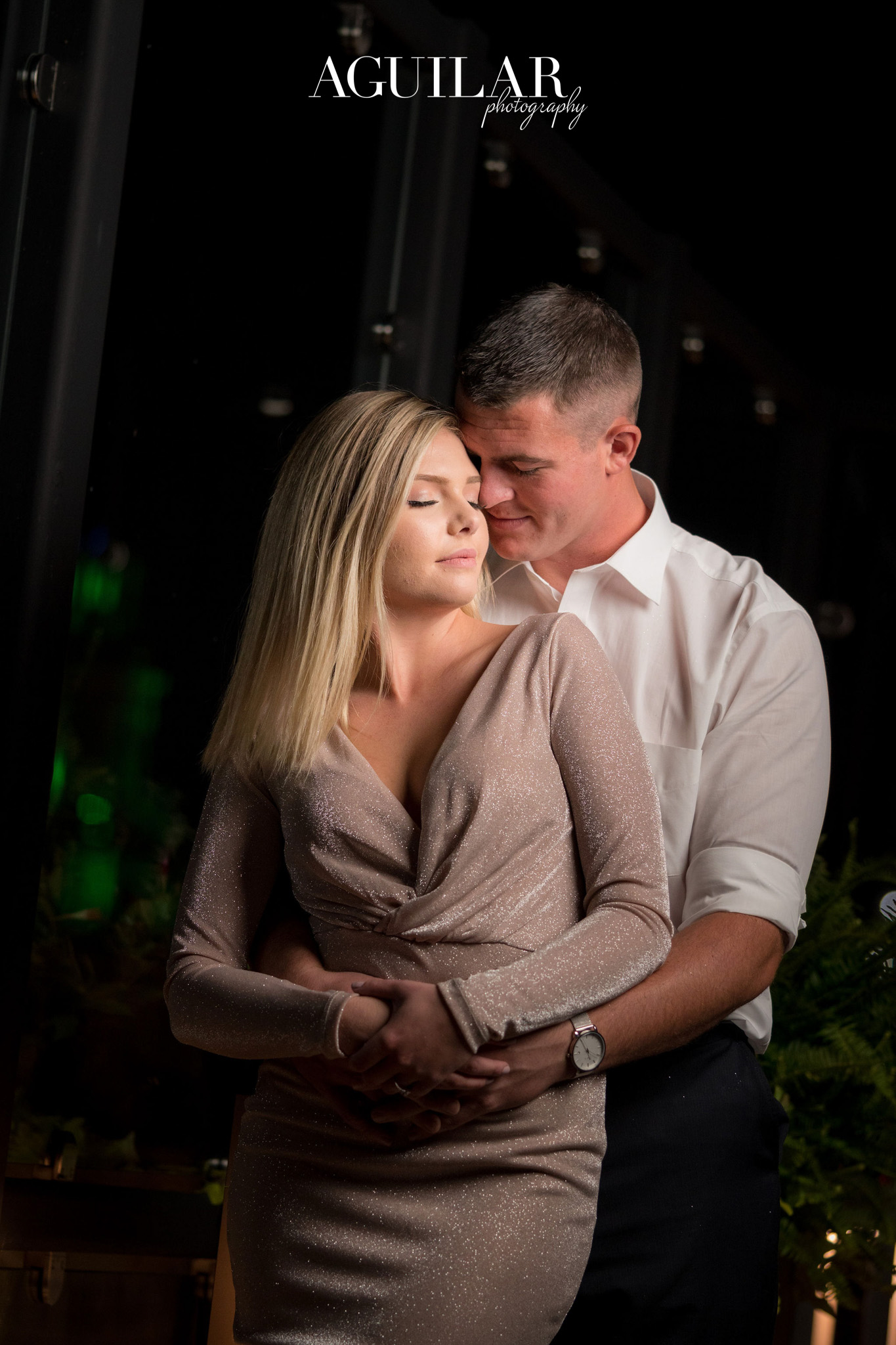 Colton & Taylor's Downtown Chicago Riverwalk Engagement 23