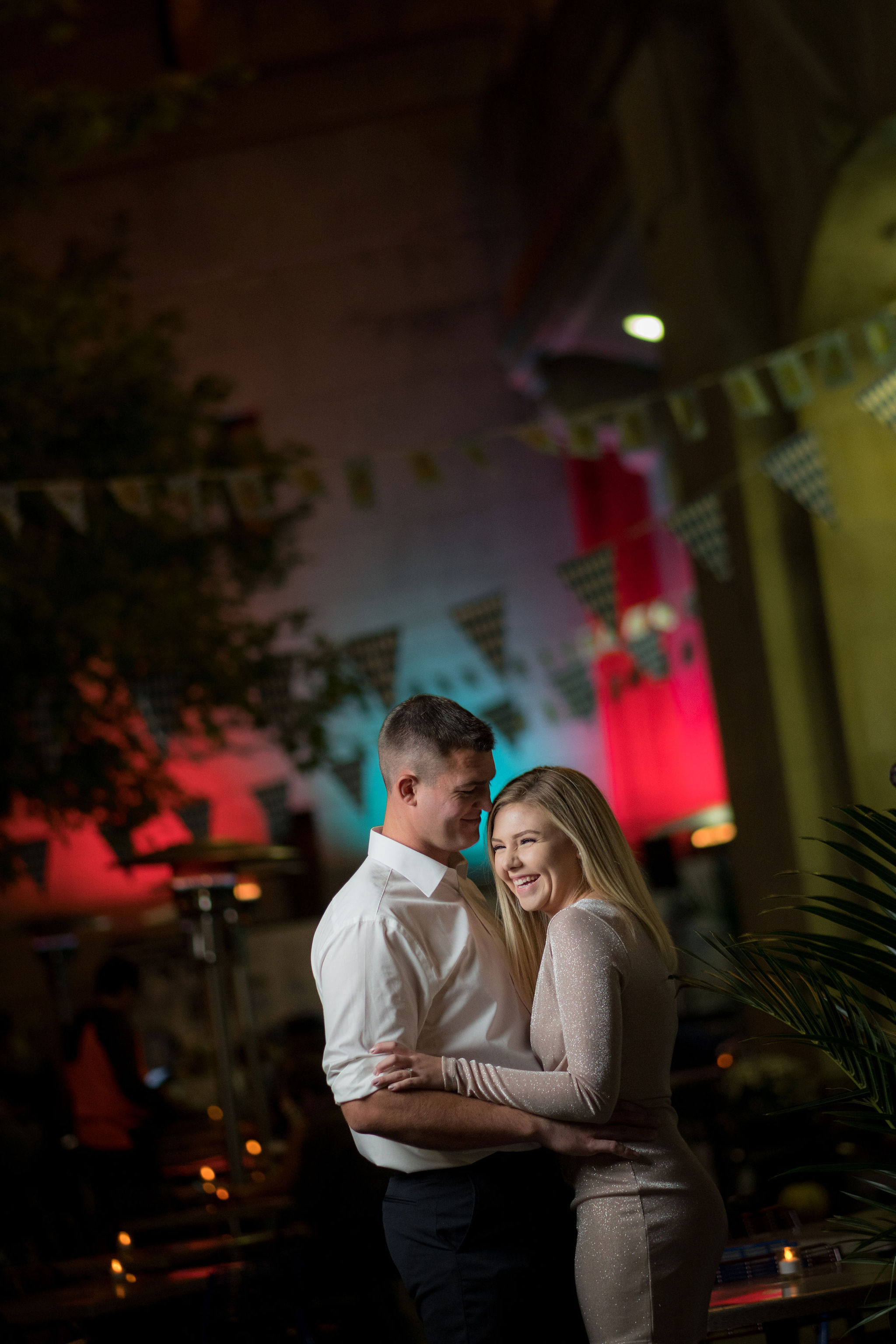 Colton & Taylor's Downtown Chicago Riverwalk Engagement 25