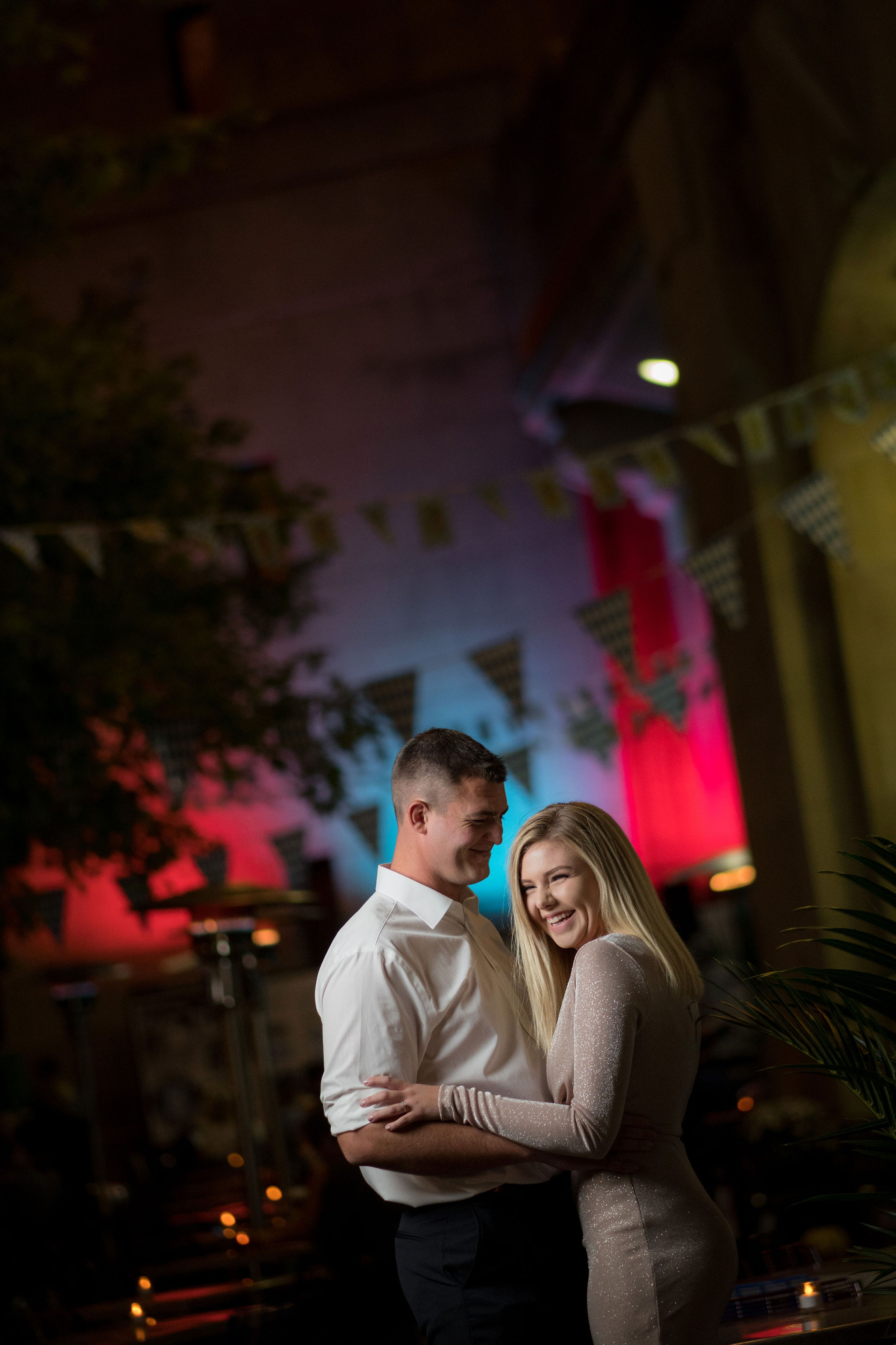 Colton & Taylor's Downtown Chicago Riverwalk Engagement 26