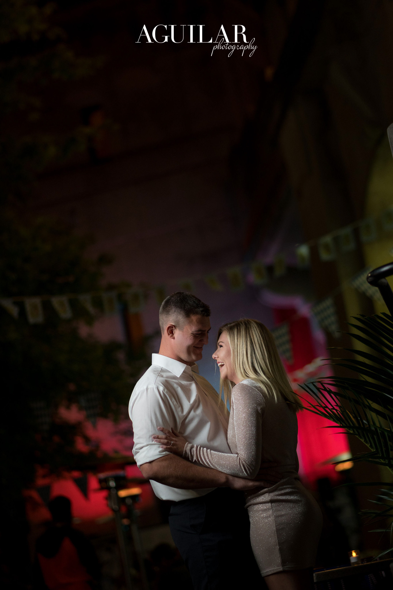 Colton & Taylor's Downtown Chicago Riverwalk Engagement 27