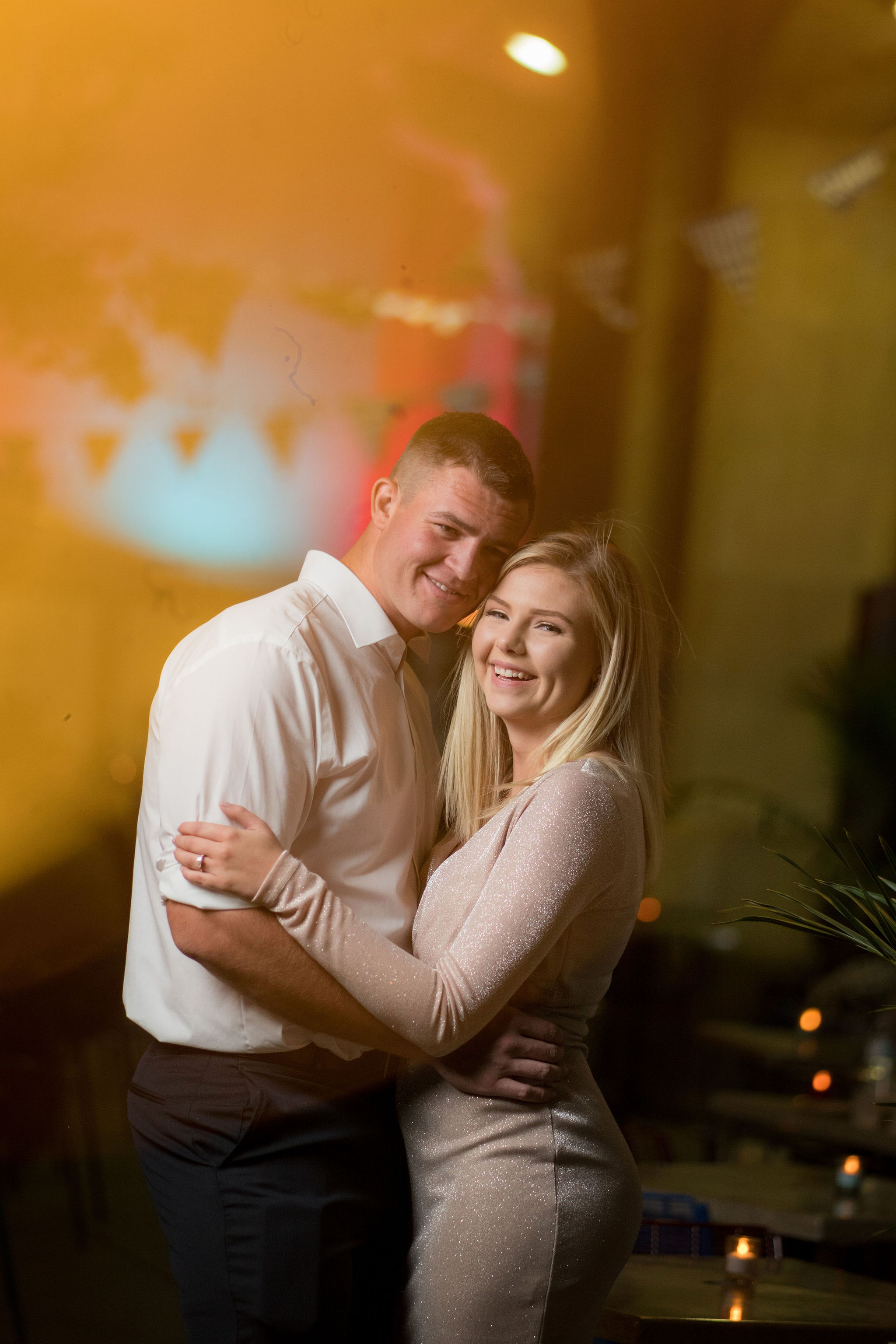 Colton & Taylor's Downtown Chicago Riverwalk Engagement 28