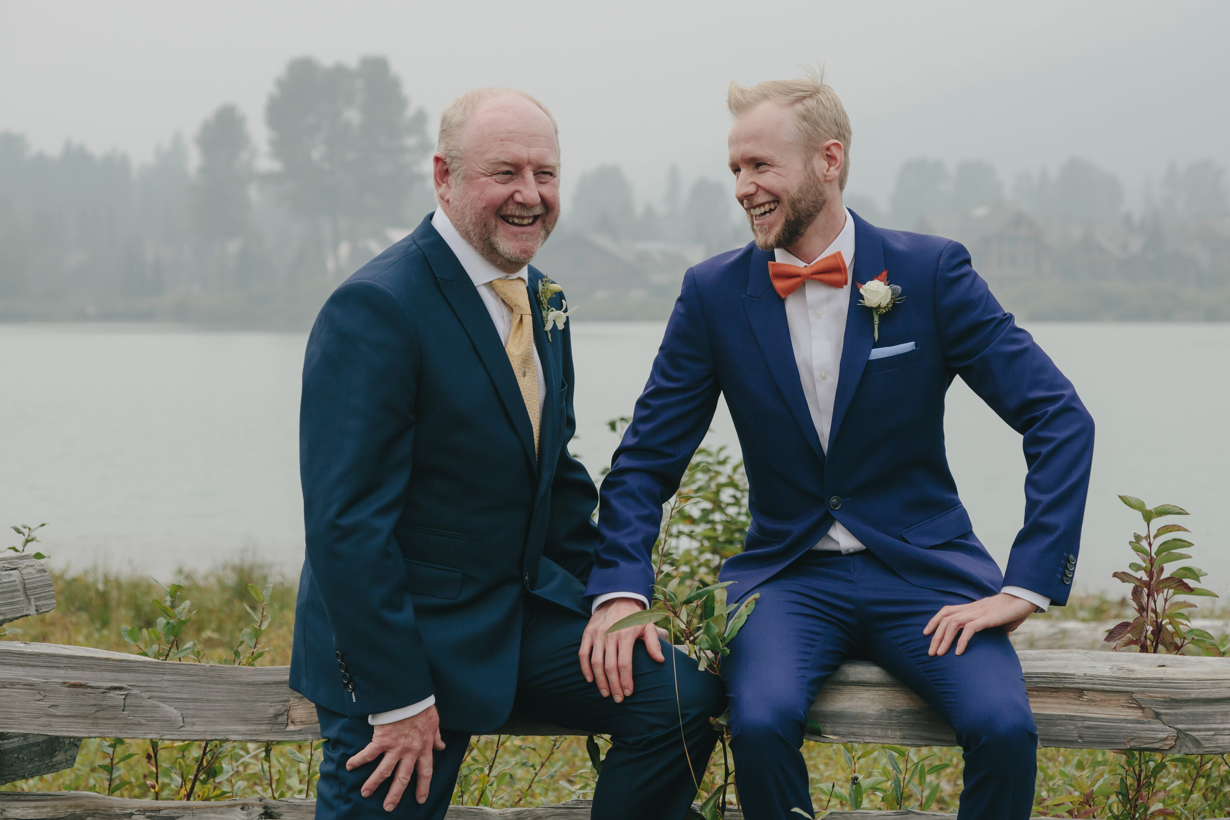 Groom and Father connection