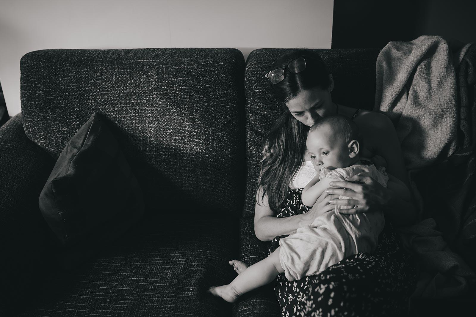 mama and baby photographer British Columbia