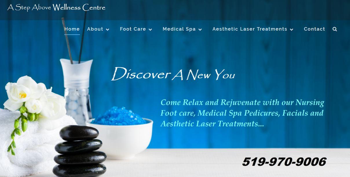 Website - A Step Above Wellness Centre