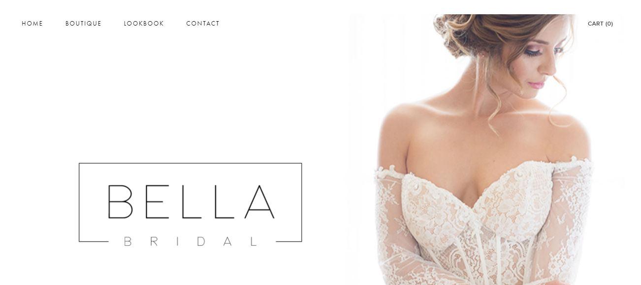 SEO and E-commerce Work - Bella Bridal Windsor