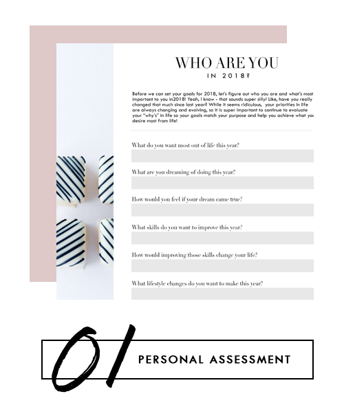 Take this quiz to find out more about who you are in 2018 and what you want most out of the year