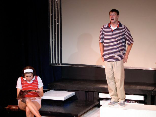 The Shelterbelt Theatre's production of john & jen