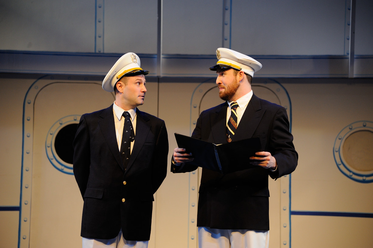 """Anything Goes""  at the Ocean State Theatre Company"