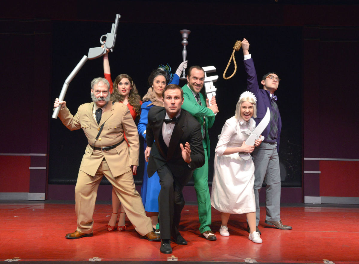 """Clue: The Musical"" at the Dutch Apple Dinner Theatre"