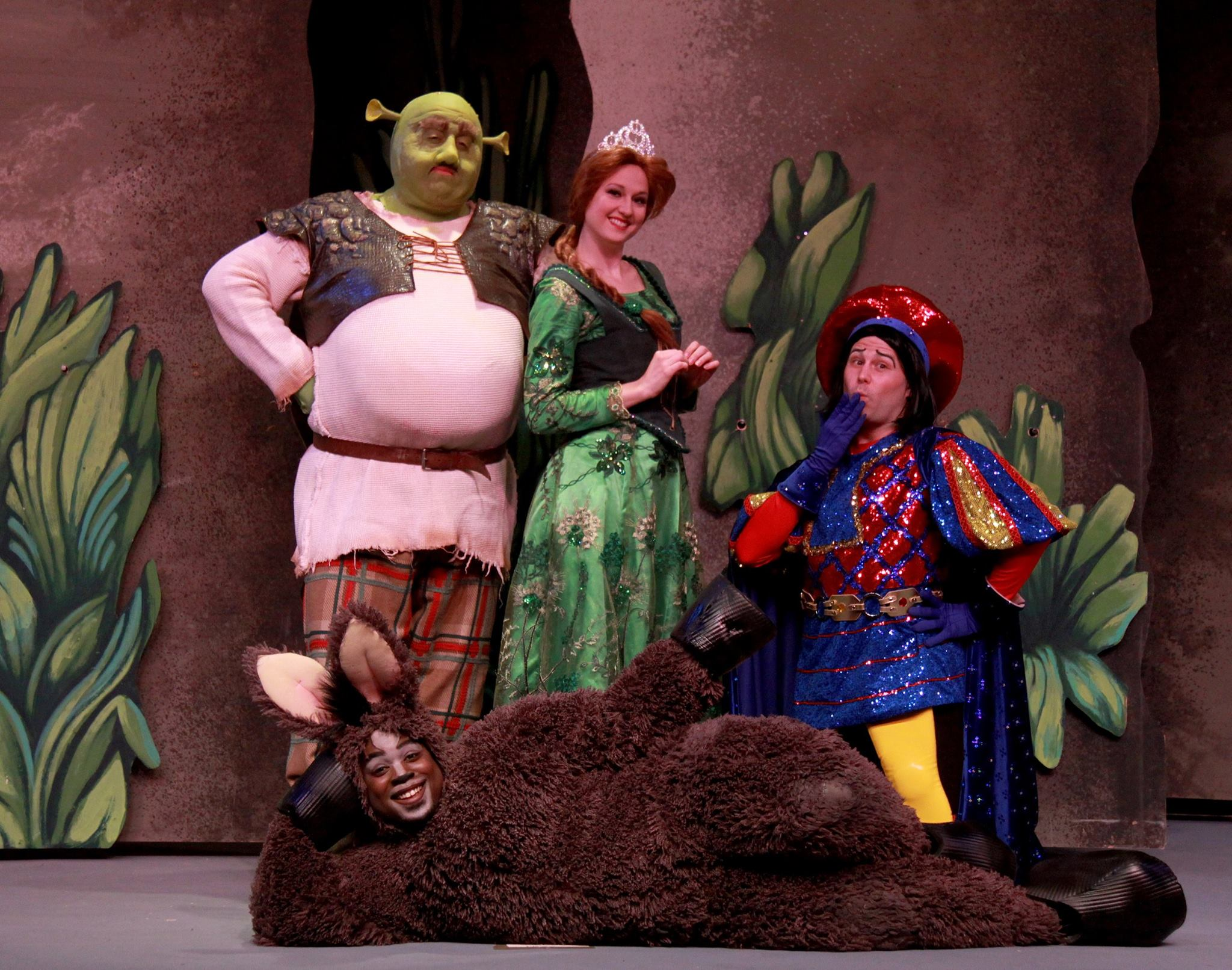 """Shrek"" at the Dutch Apple Dinner Theatre"