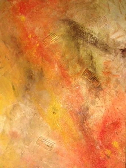 "pele's promise | mixed media, 30x40"" (2013)"