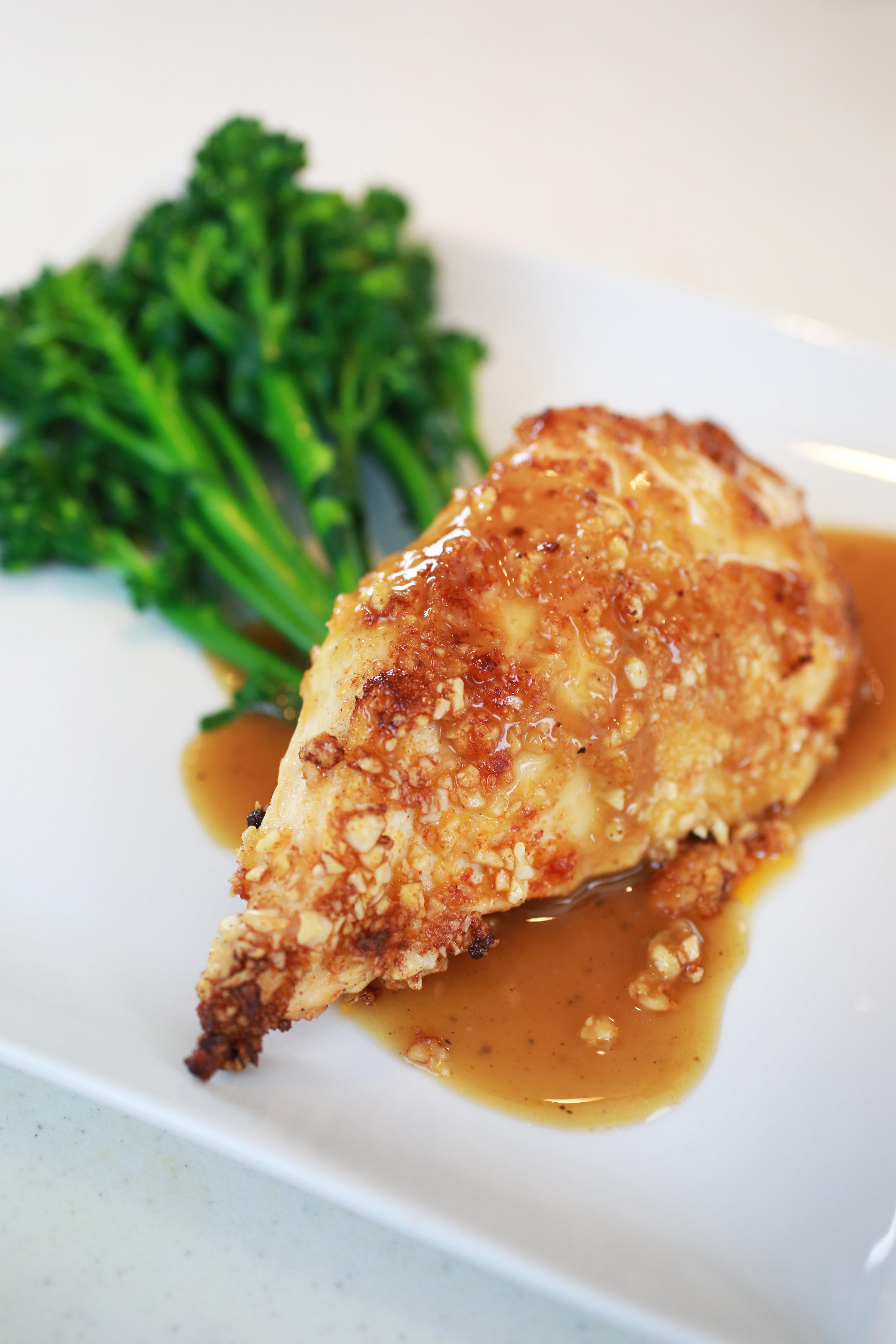 Ginger Almond Chicken