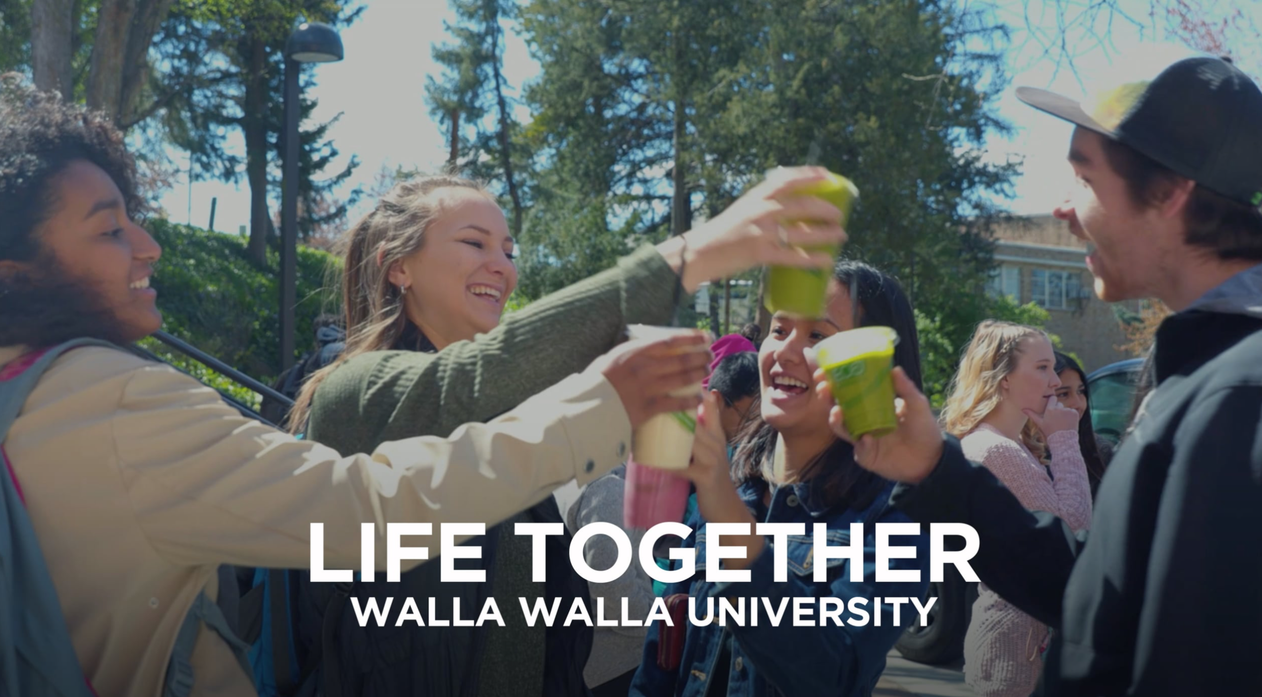 Video: Short-film – Honorable Mention    Walla Walla University | Life Together   Christian Bell, DeLona Bell, Miles Eric Bell, Jodi Wagner, Chris Drake, and Emily Muthersbaugh along with many, many others across our campus.  WALLA WALLA UNIVERSITY