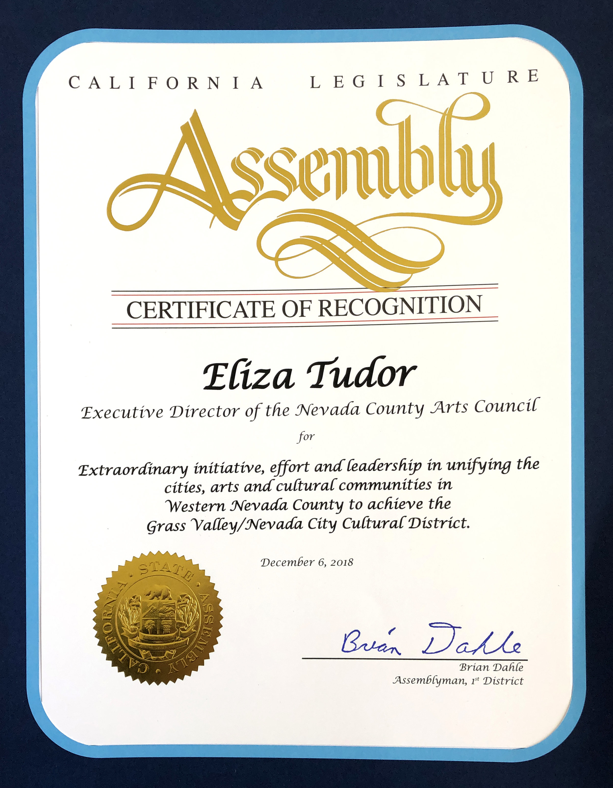Key People at Nevada County Arts Council — Nevada County