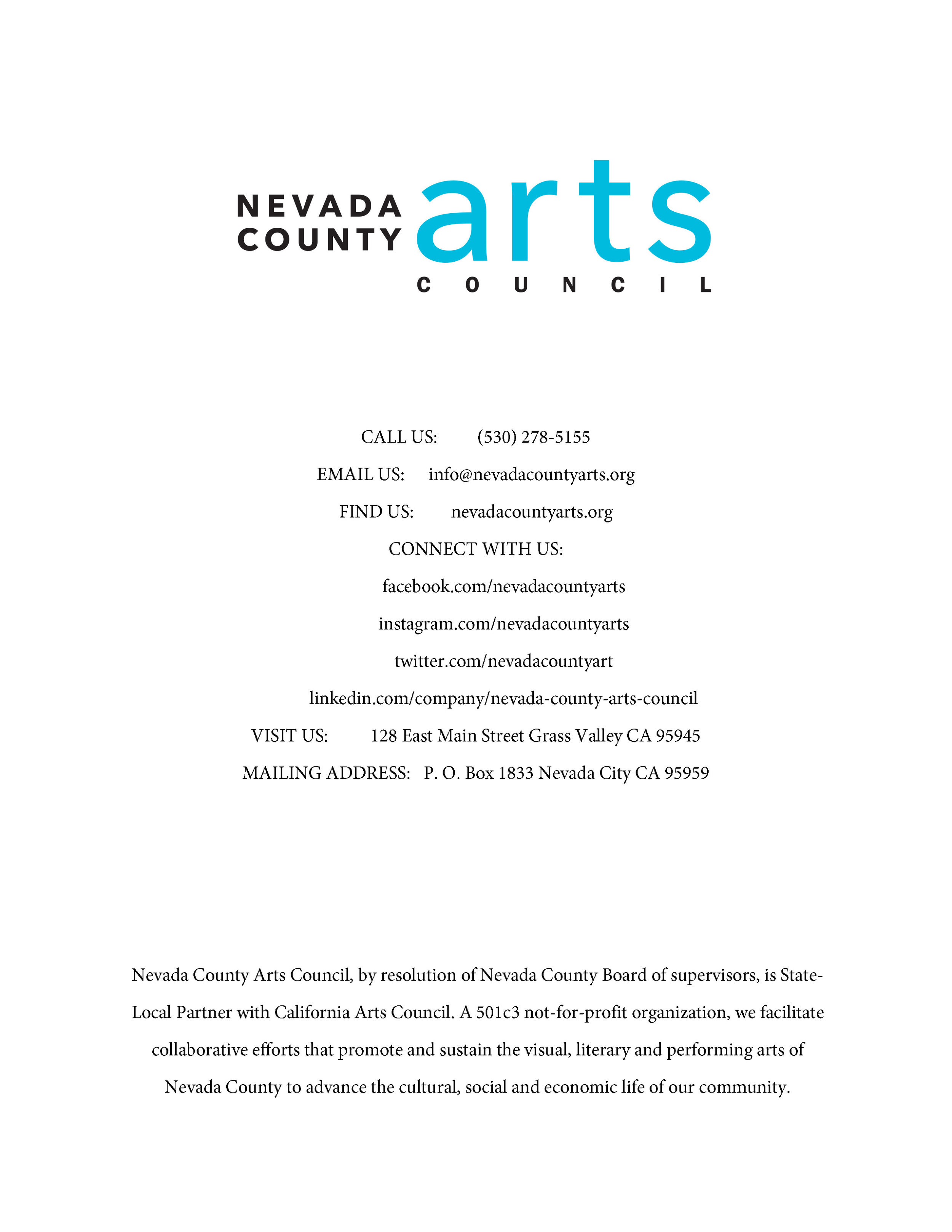 Arts & Economic Prosperity in Nevada County_Page_38.jpg