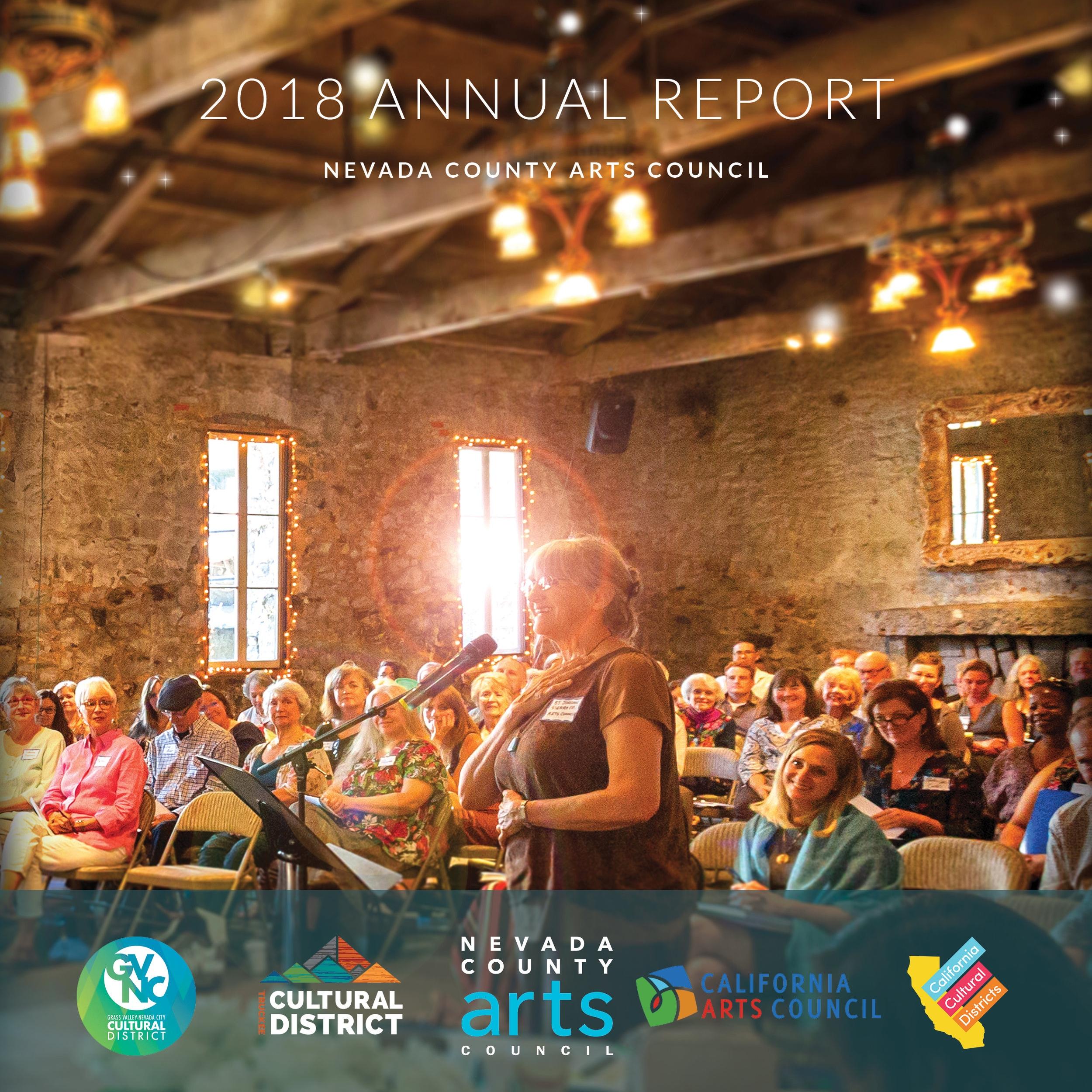 2018 Annual Report: Nevada County Arts Council