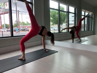 Surround Yourself - This 70-minute Hips & Hamstrings class flows through a deep hip sequence. When we surround ourself with empowering energy, we empower ourselves. Sometimes it's that simple. This class includes sun salutations, warriors, standing balancing poses, backbends and hips.Length: 70 minutesCost: $7.99