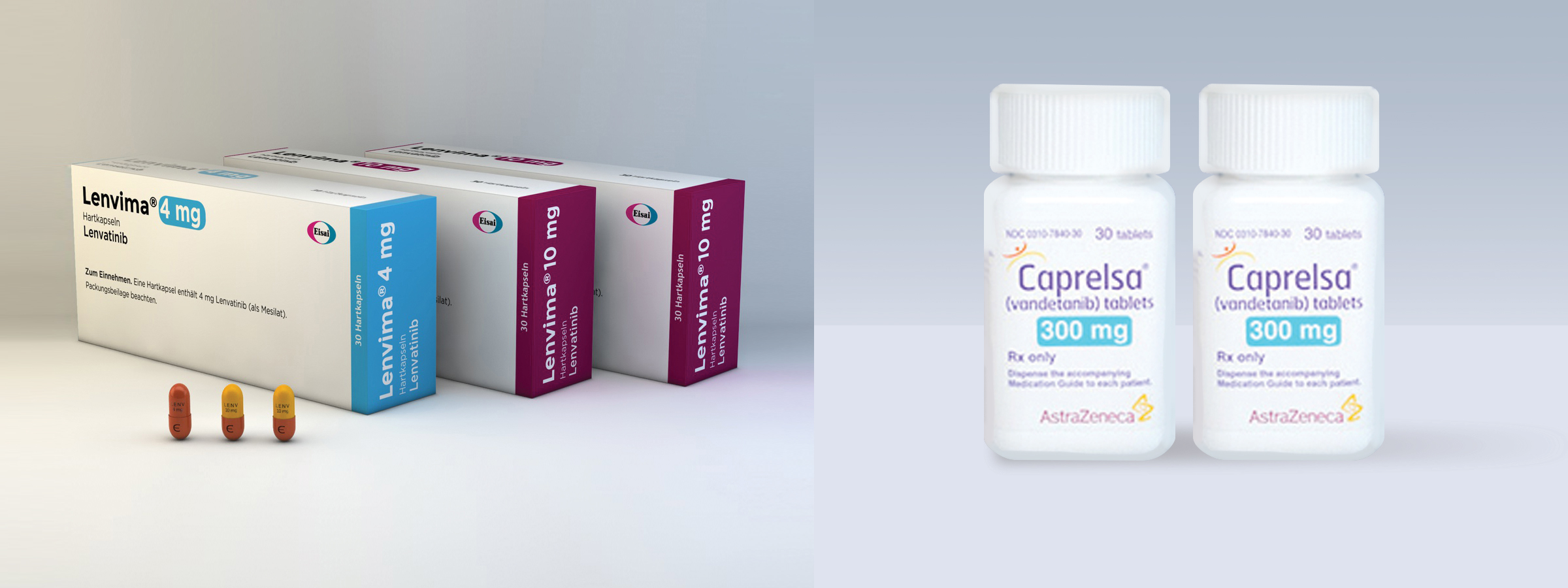 Lenvima™ and Caprelsa®