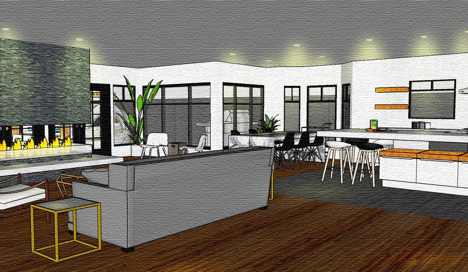 LAKEWOOD HOUSE  Custom Home Design Concept