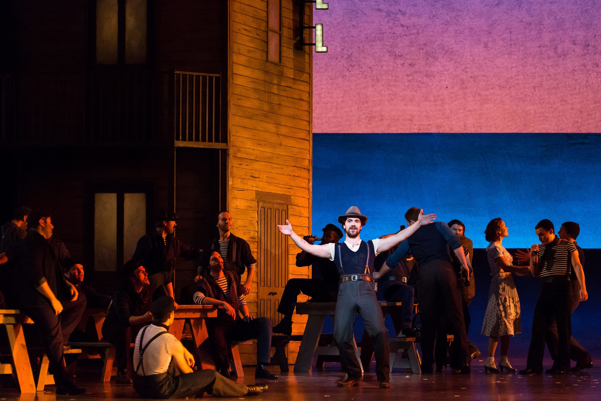 Jigger Craigin in Carousel - Houston Grand Opera